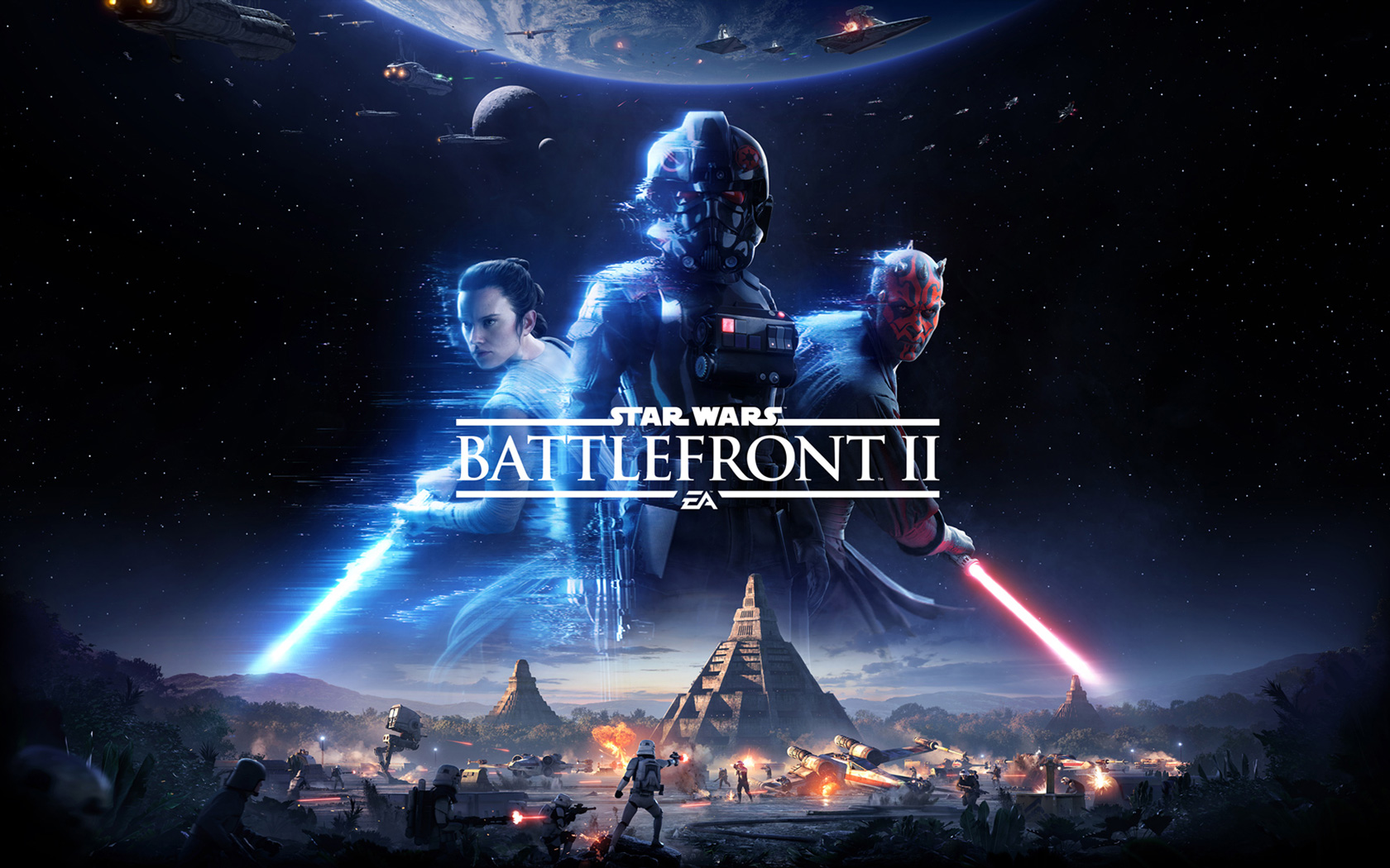 Star Wars: Battlefront II Wallpaper in 1680x1050