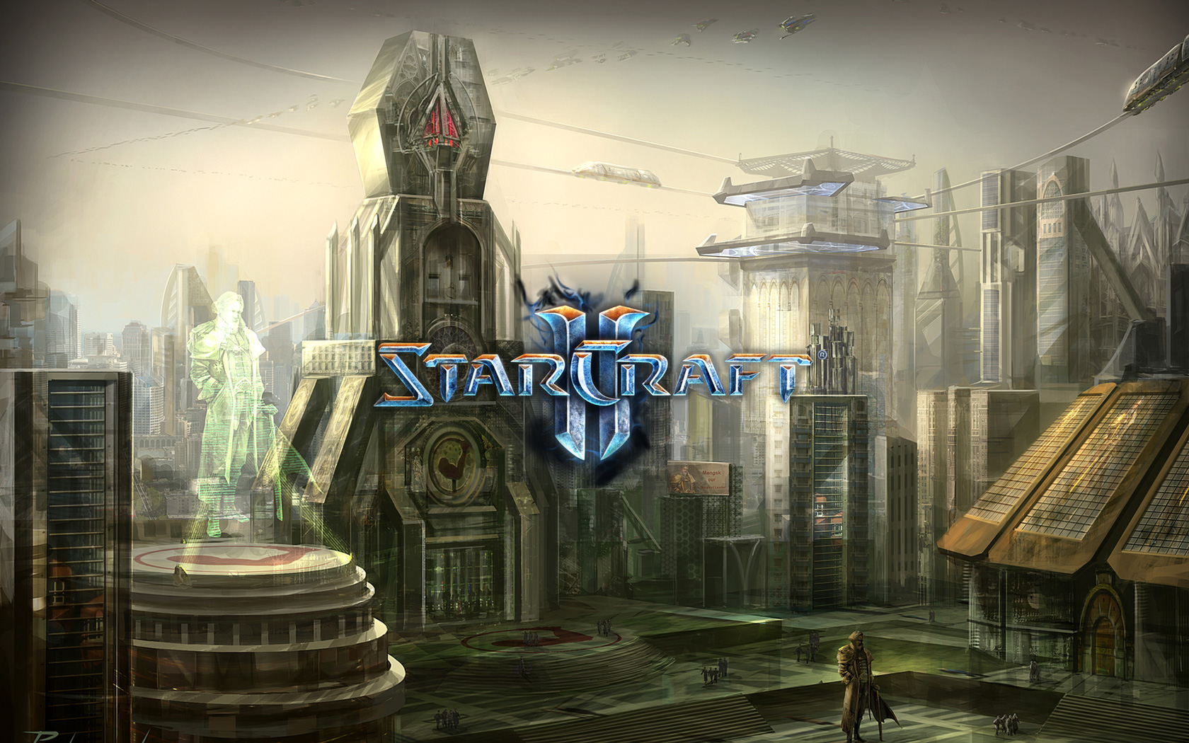 Free Starcraft 2 Wallpaper in 1680x1050