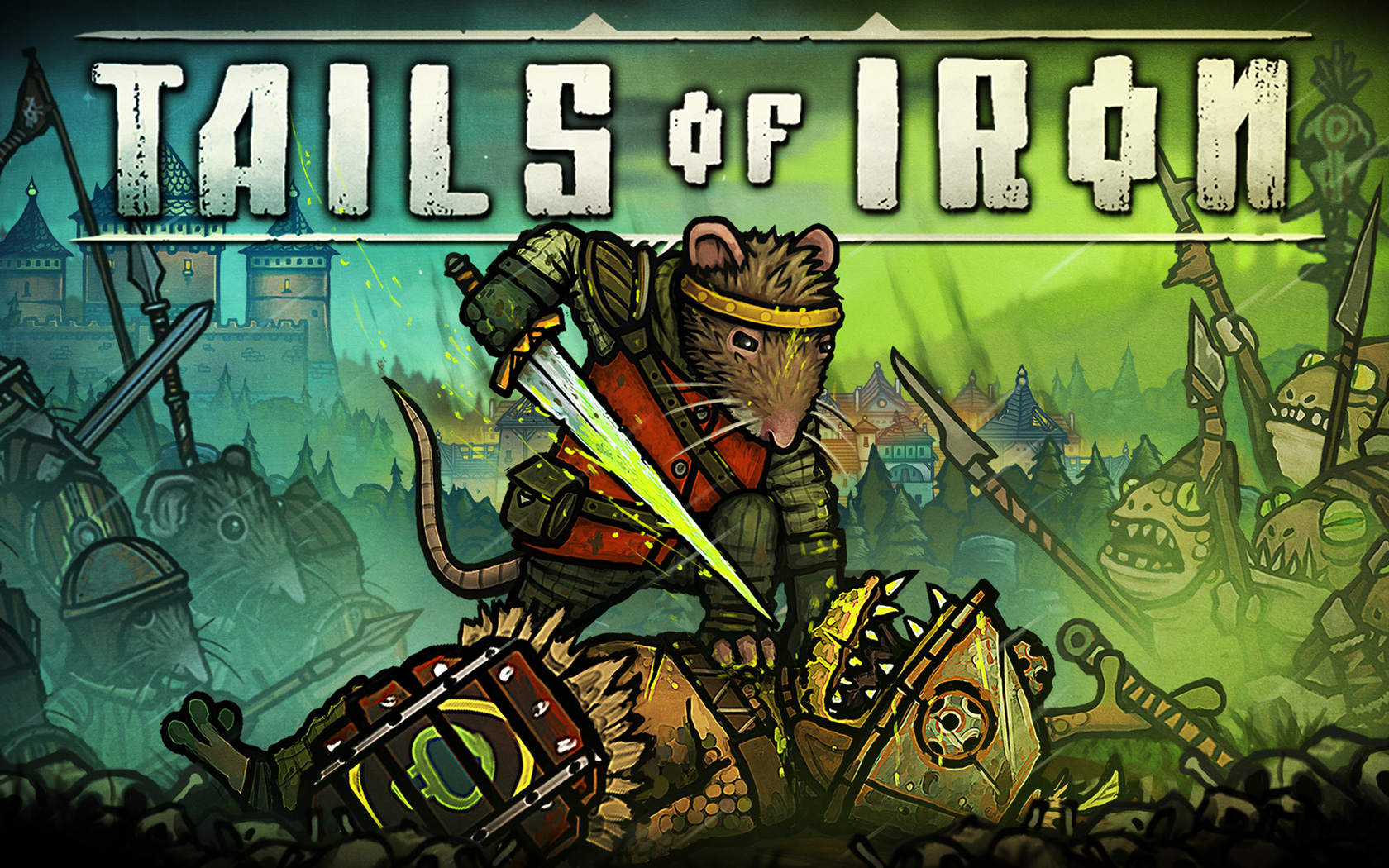 Free Tails of Iron Wallpaper in 1680x1050