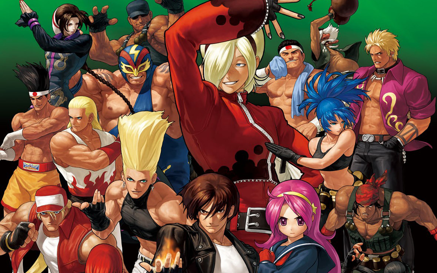 Free The King of Fighters XII Wallpaper in 1680x1050