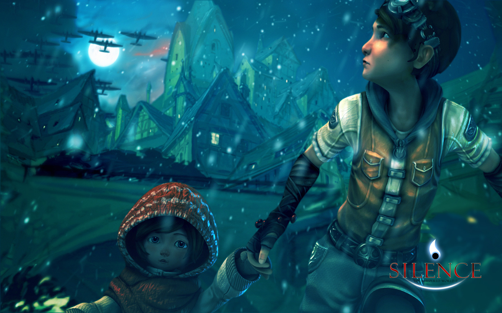 Silence: The Whispered World 2 Wallpaper in 1680x1050