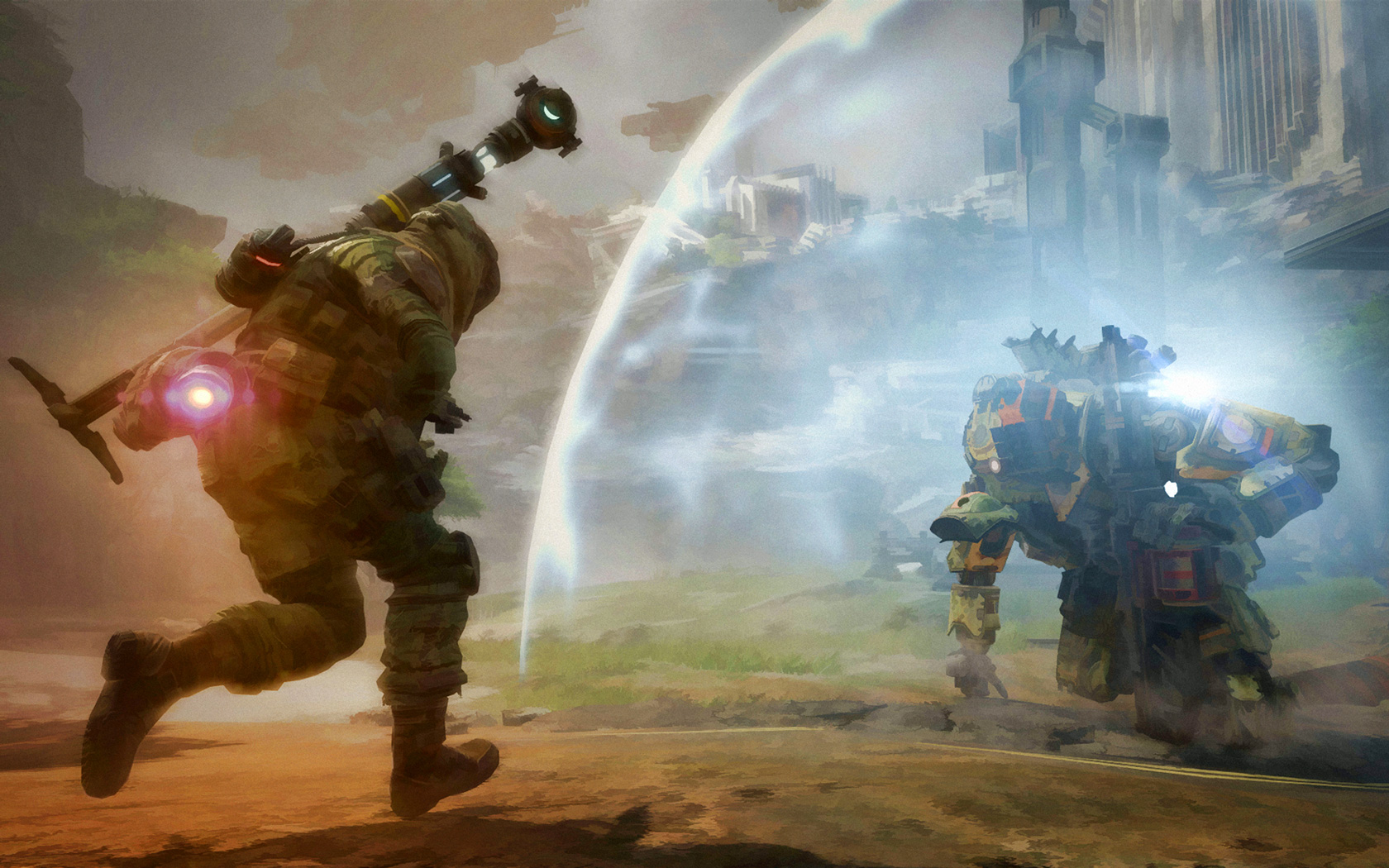 Free Titanfall Wallpaper in 1680x1050
