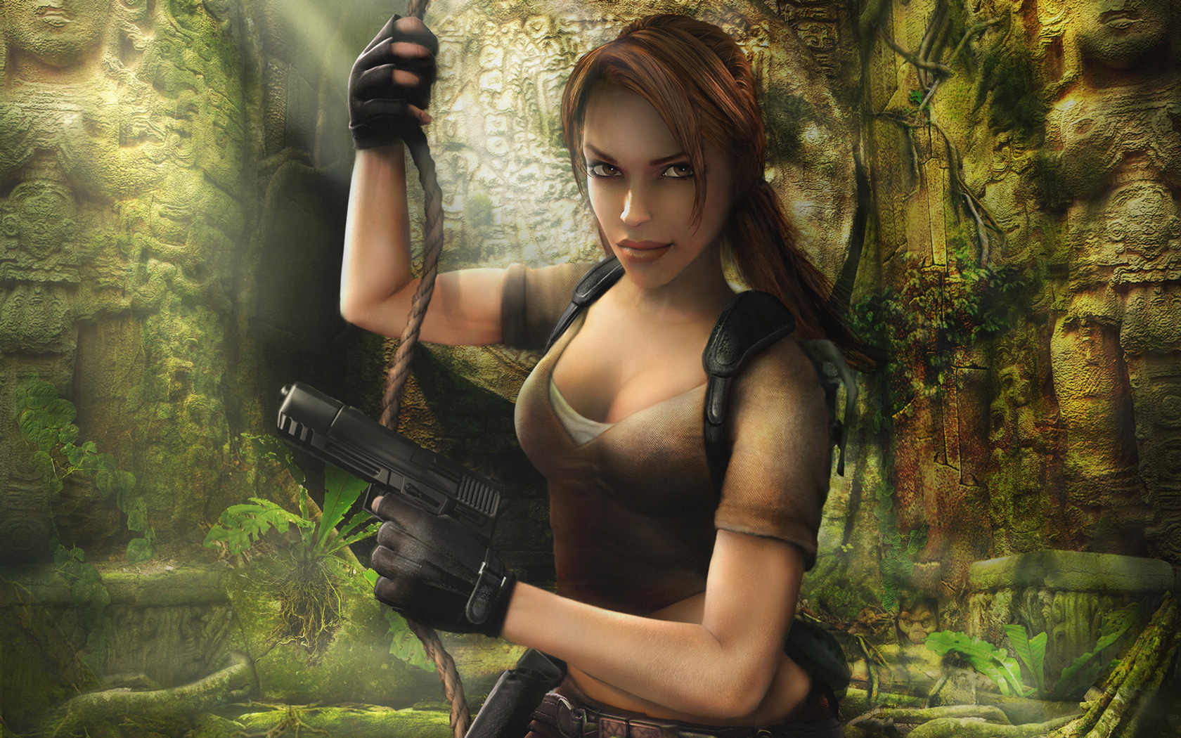 Free Tomb Raider: Legend Wallpaper in 1680x1050