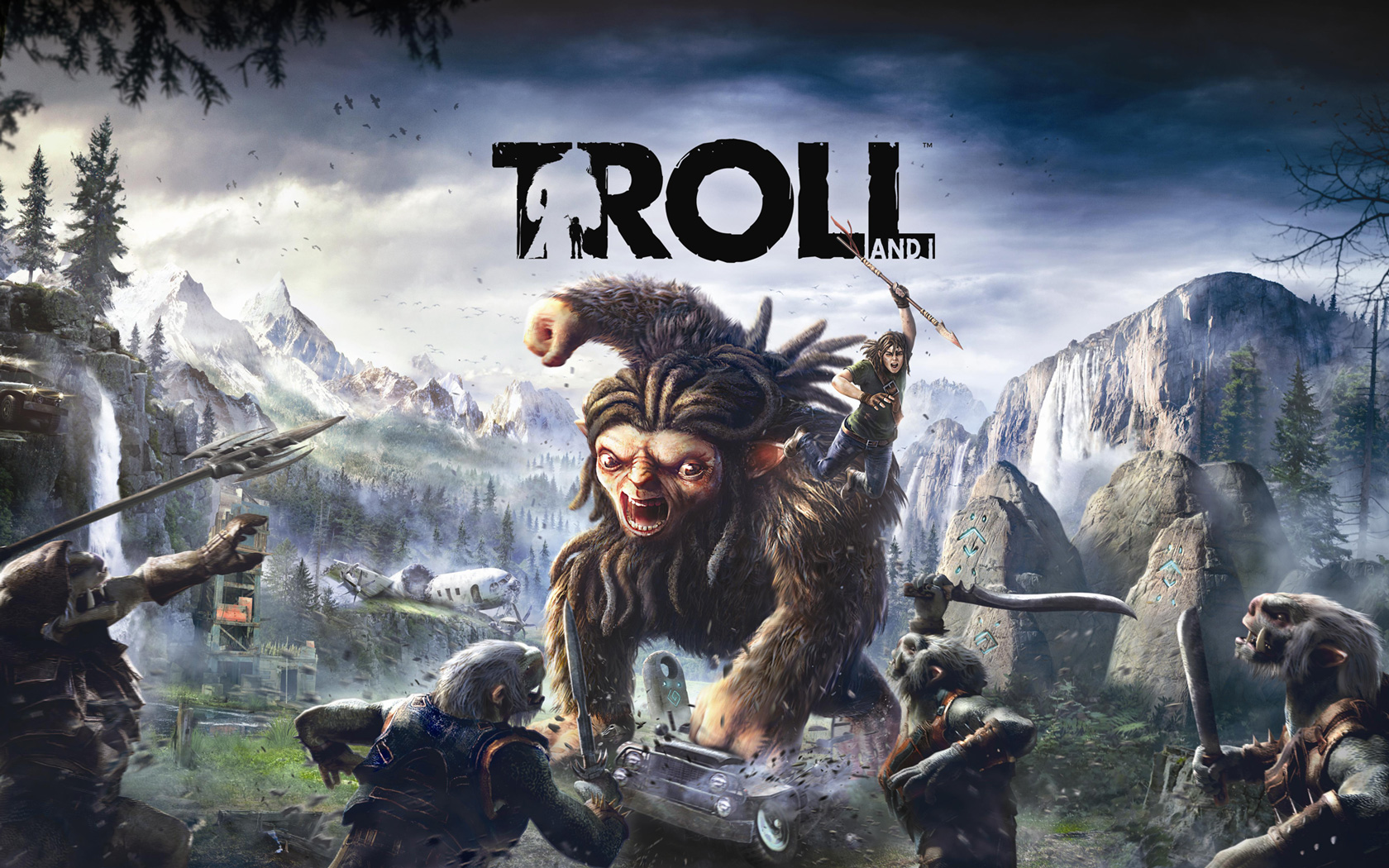 Troll and I Wallpaper in 1680x1050