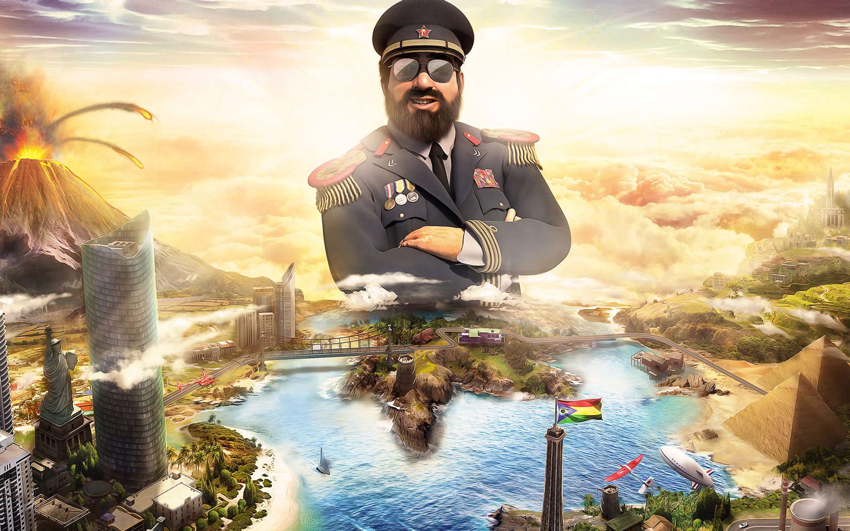 Free Tropico 6 Wallpaper in 1680x1050