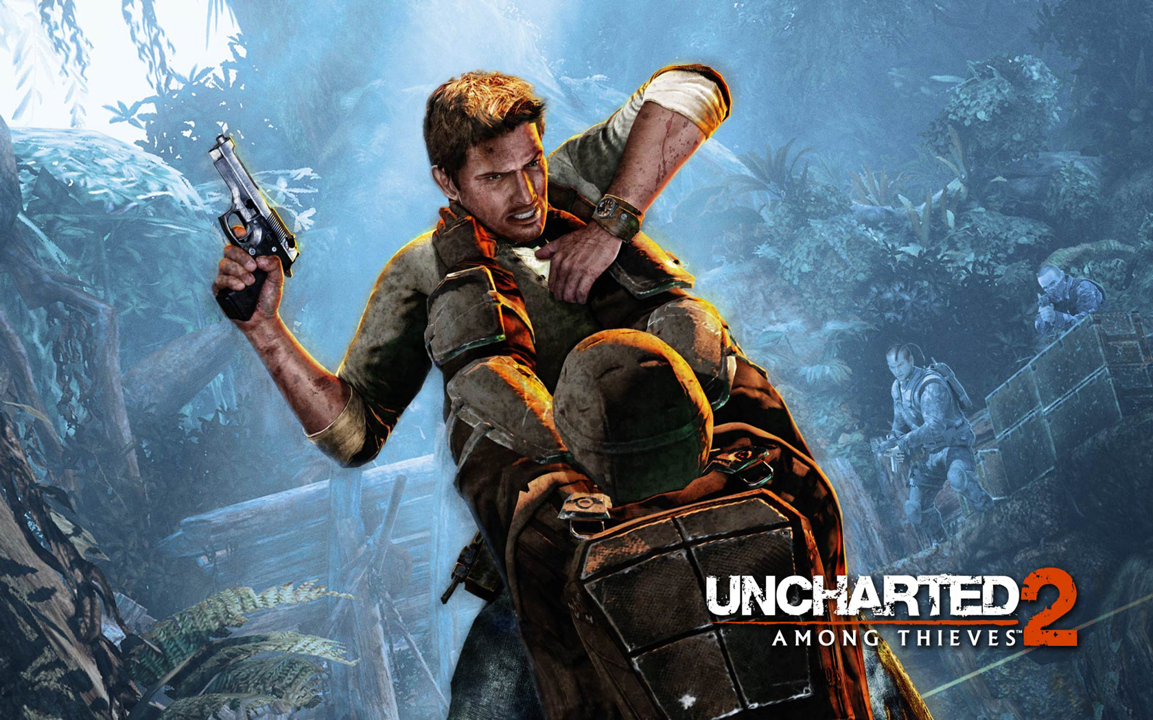Free Uncharted 2: Among Thieves Wallpaper in 1680x1050