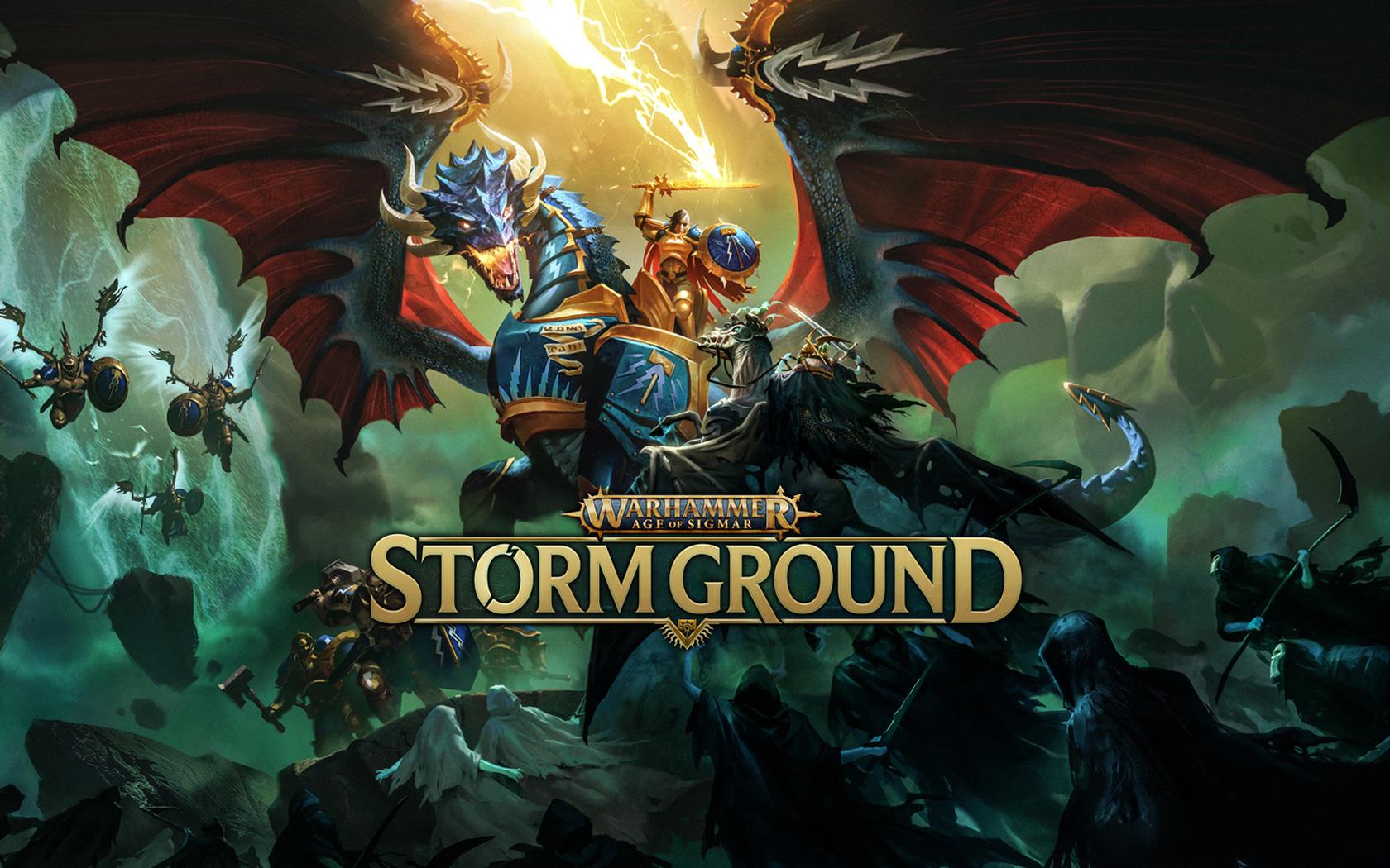 Free Warhammer Age of Sigmar: Storm Ground Wallpaper in 1680x1050