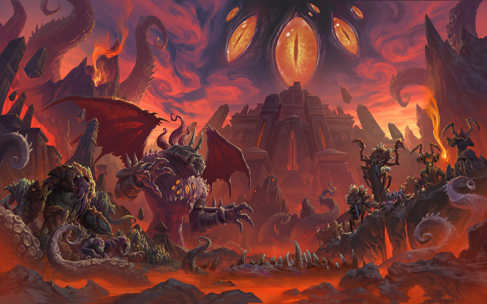 Free World of Warcraft Wallpaper in 1680x1050