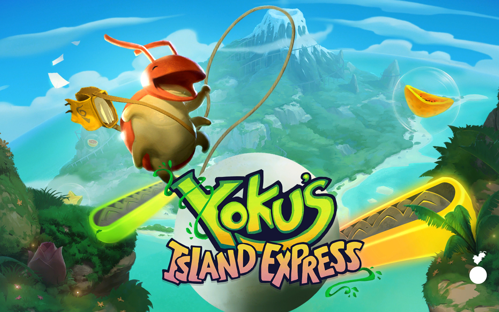 Free Yoku's Island Express Wallpaper in 1680x1050