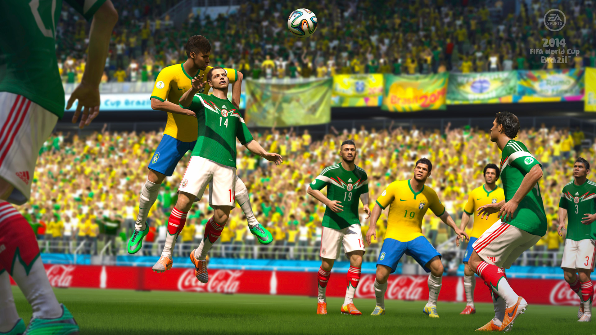 2014 FIFA World Cup Brazil Wallpaper in 1920x1080