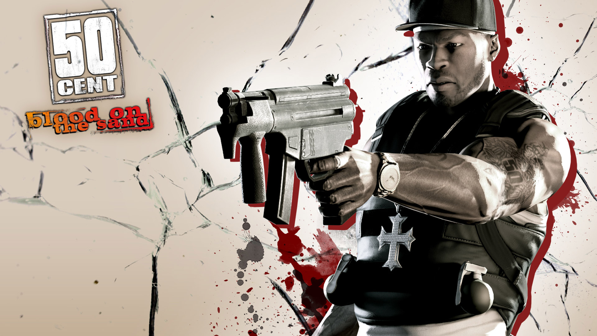 50 Cent: Blood on the Sand Wallpaper in 1920x1080