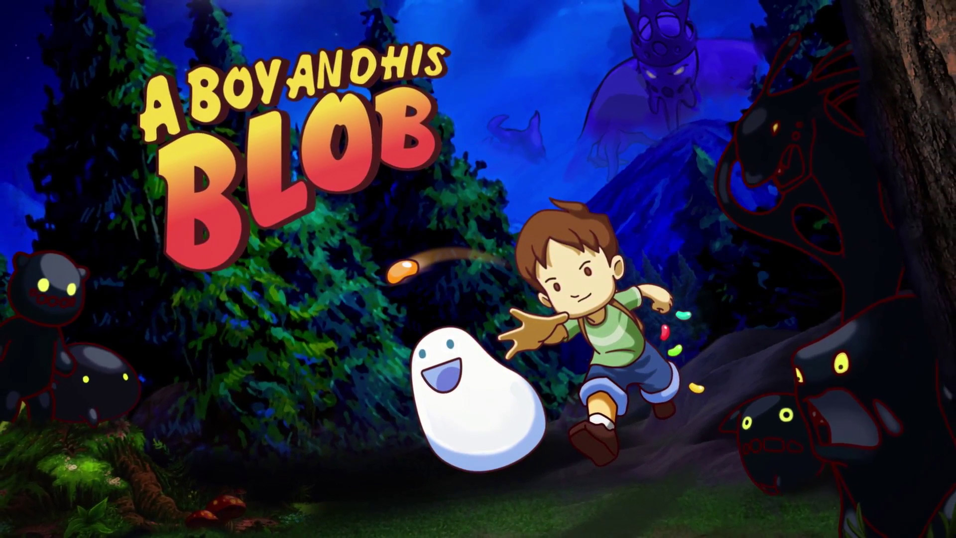 A Boy and His Blob Wallpaper in 1920x1080