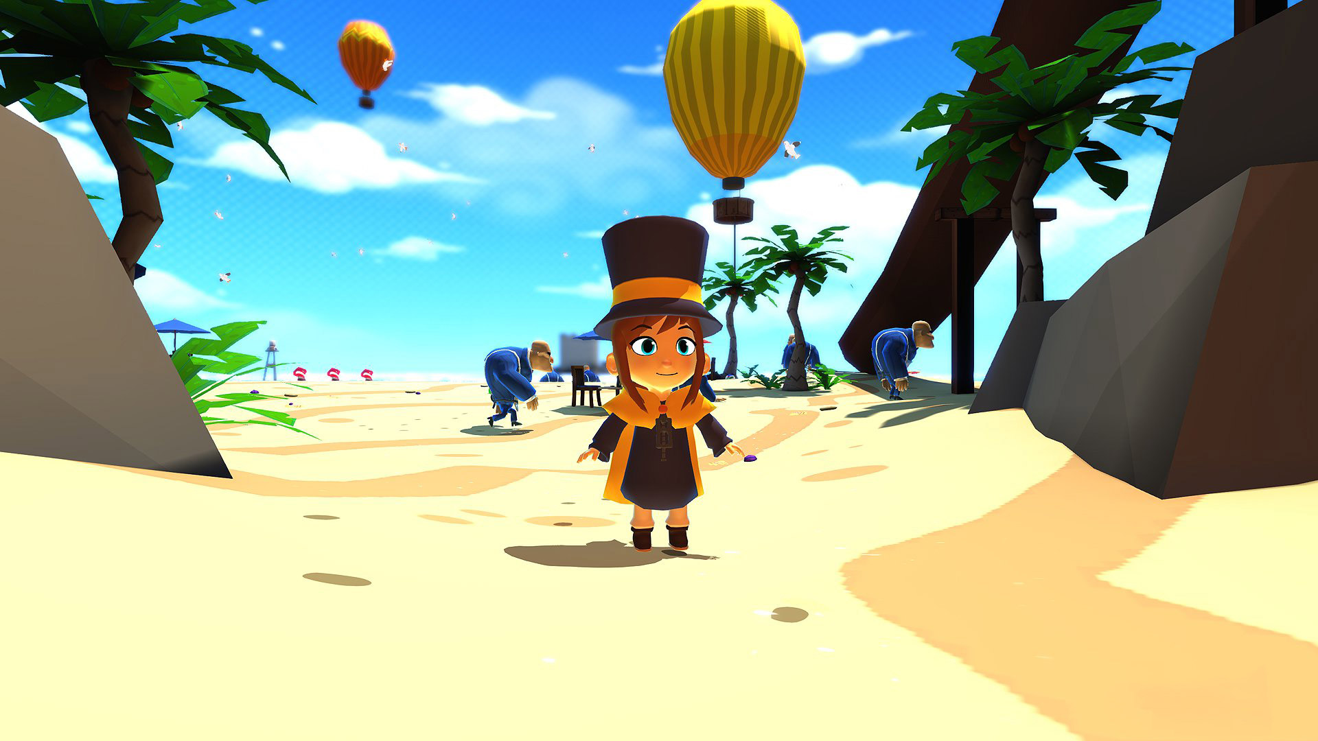 A Hat in Time Wallpaper in 1920x1080