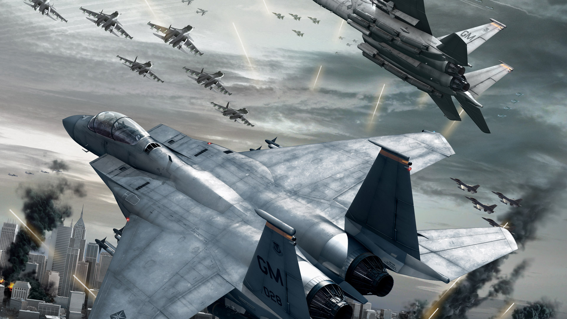Ace Combat 6: Fires of Liberation Wallpaper in 1920x1080