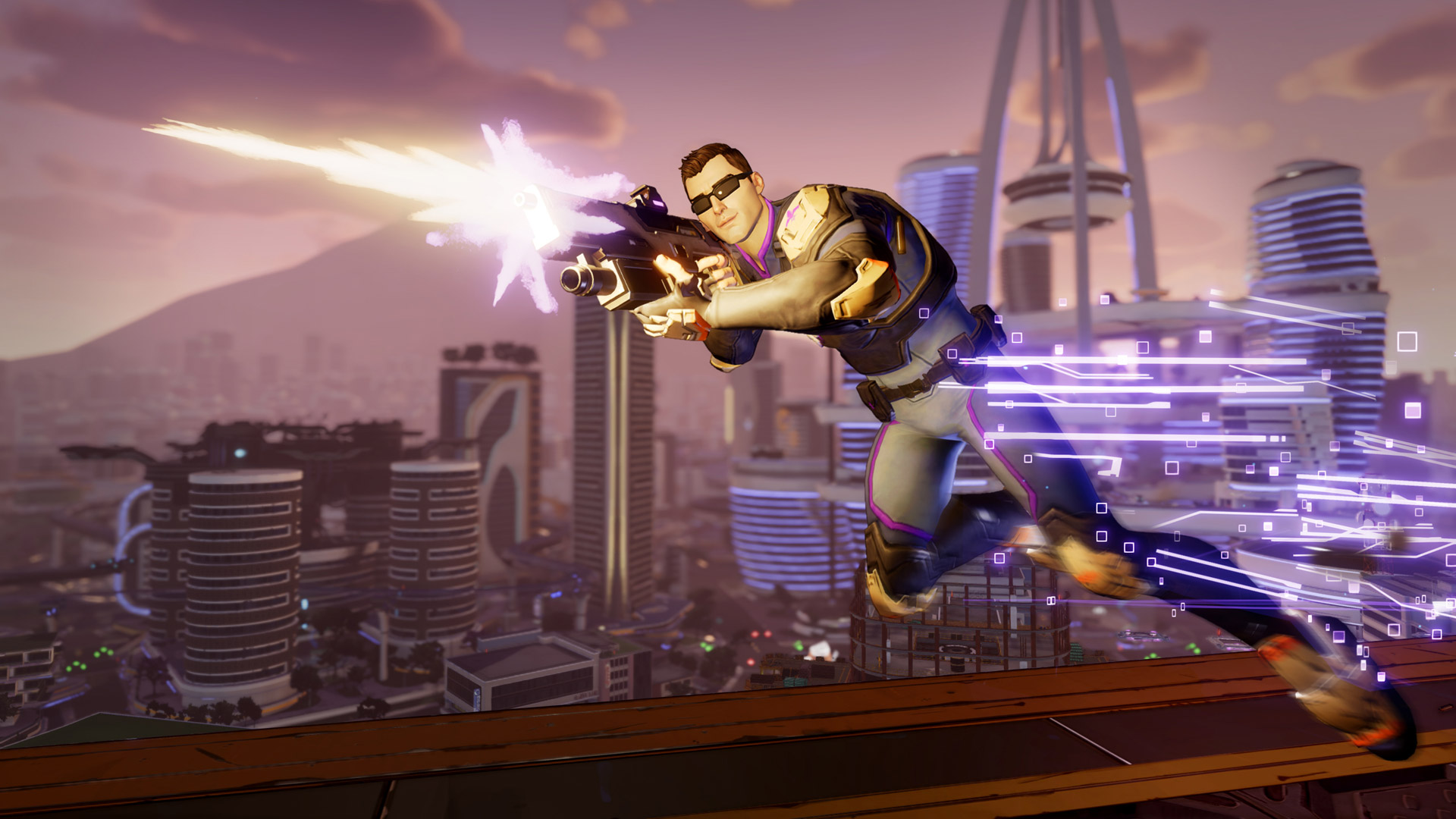 Free Agents of Mayhem Wallpaper in 1920x1080