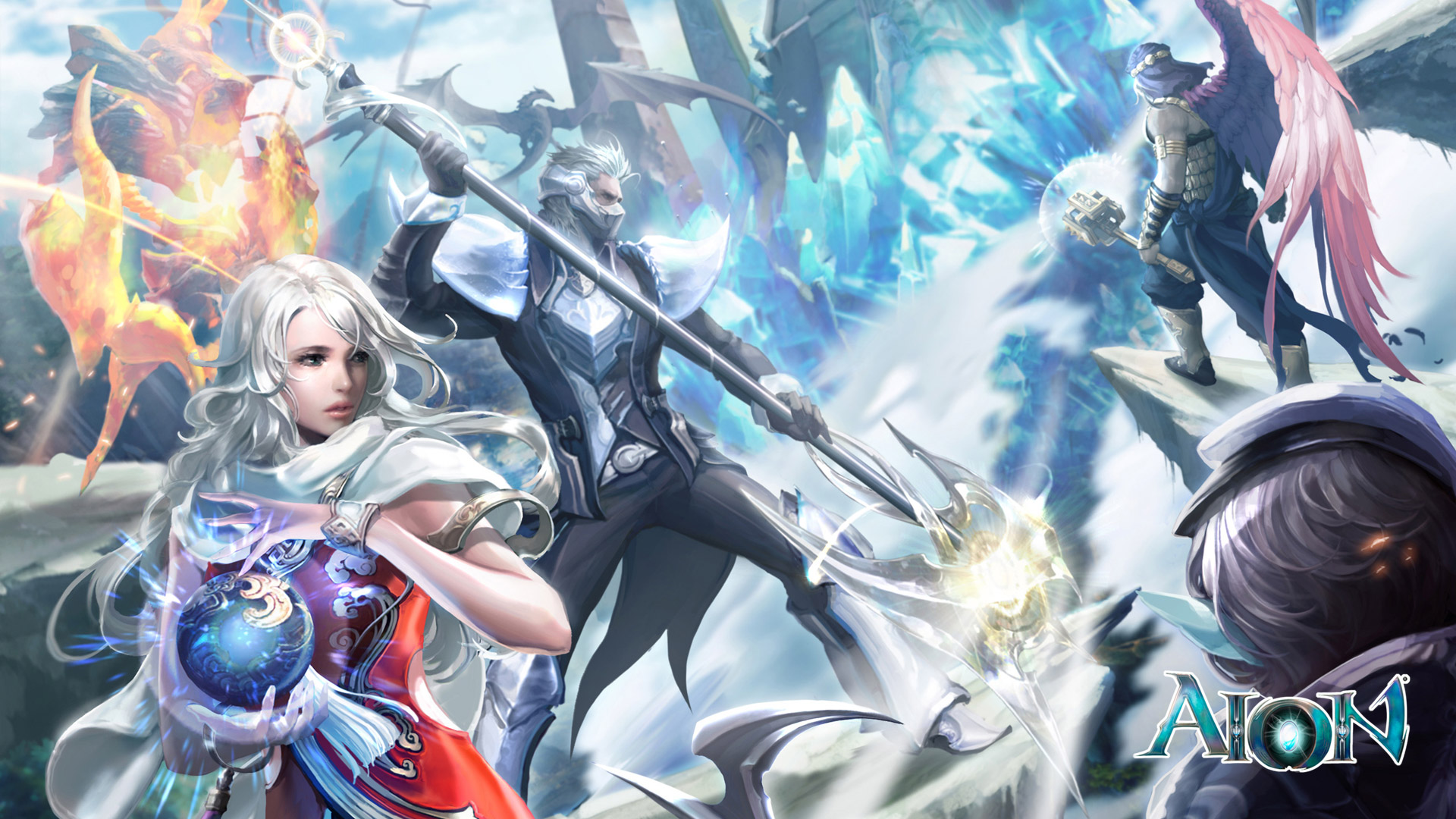 Free Aion: The Tower of Eternity Wallpaper in 1920x1080