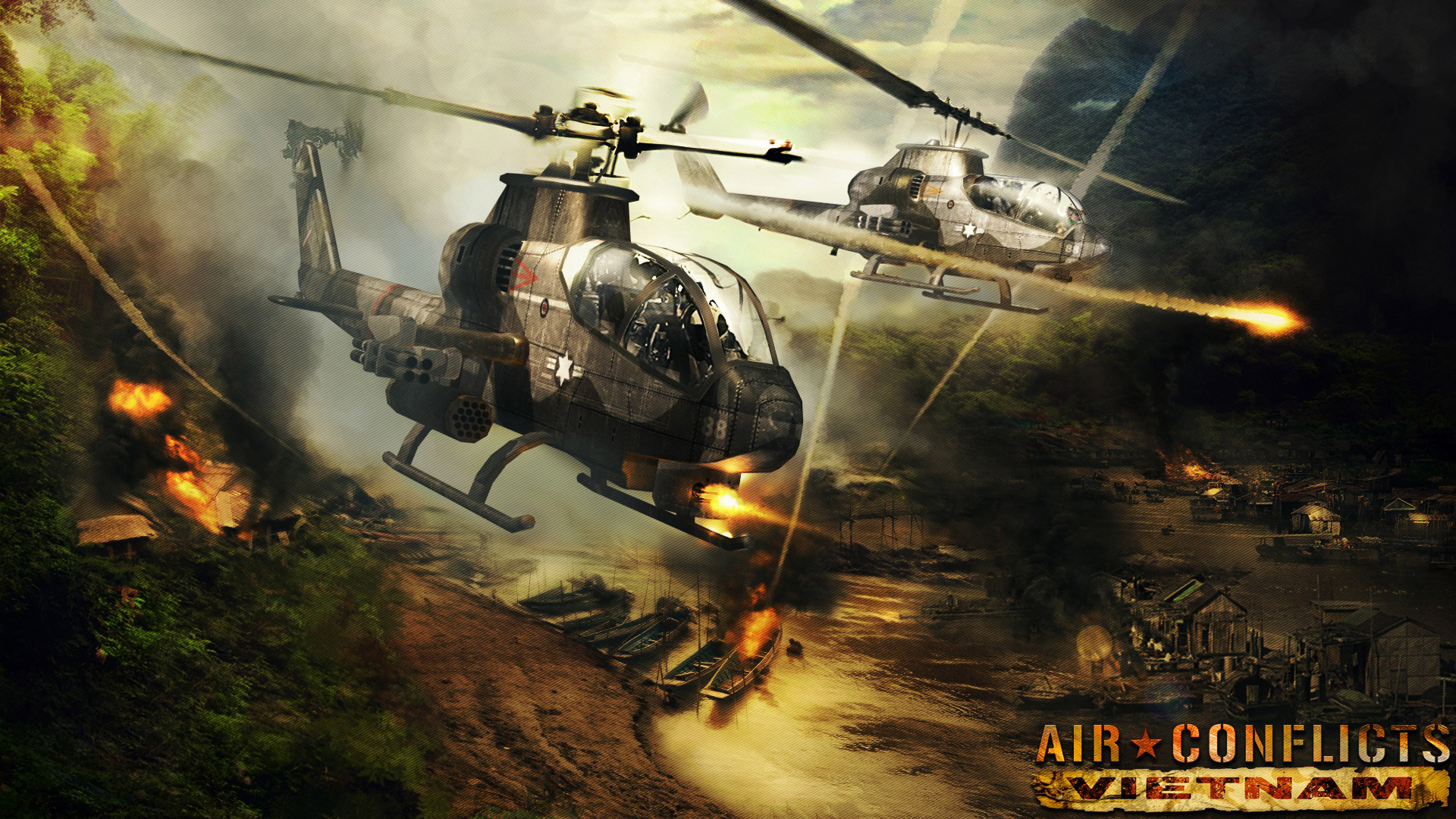 Air Conflicts: Vietnam Wallpaper in 1920x1080