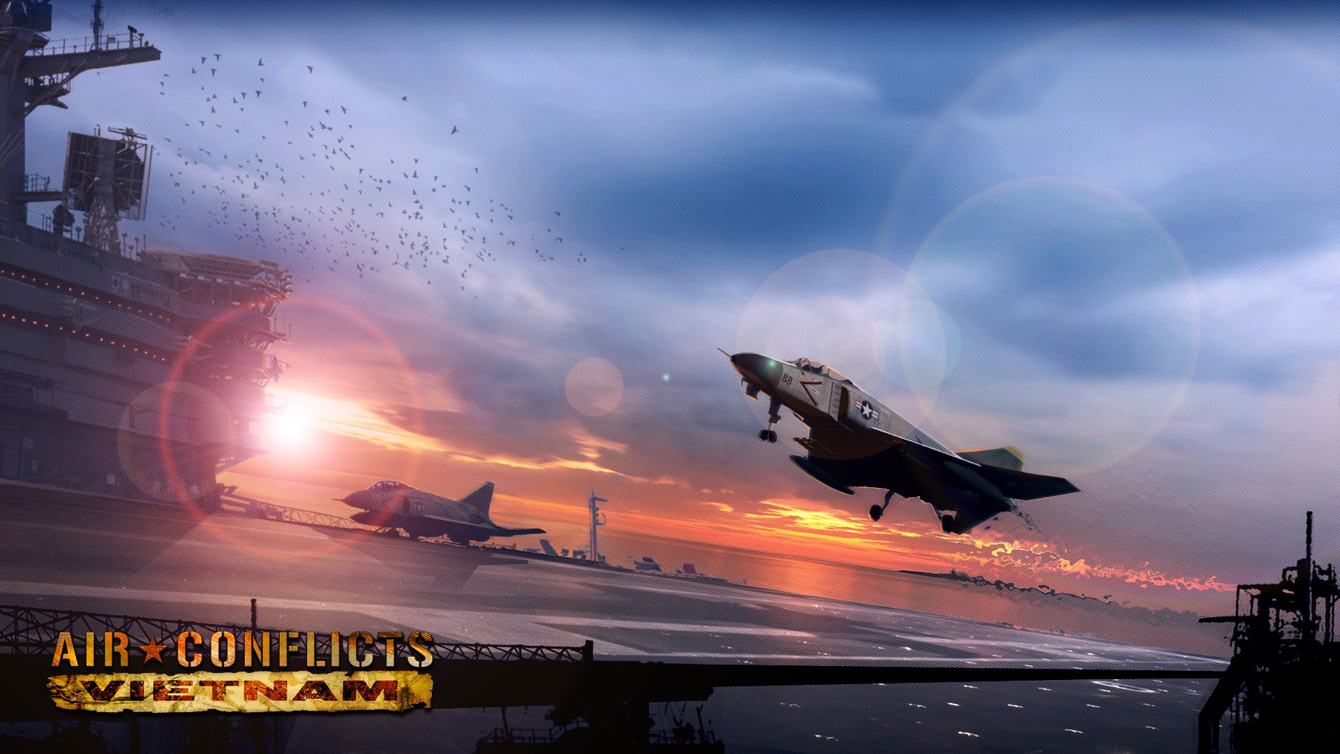 Free Air Conflicts: Vietnam Wallpaper in 1920x1080