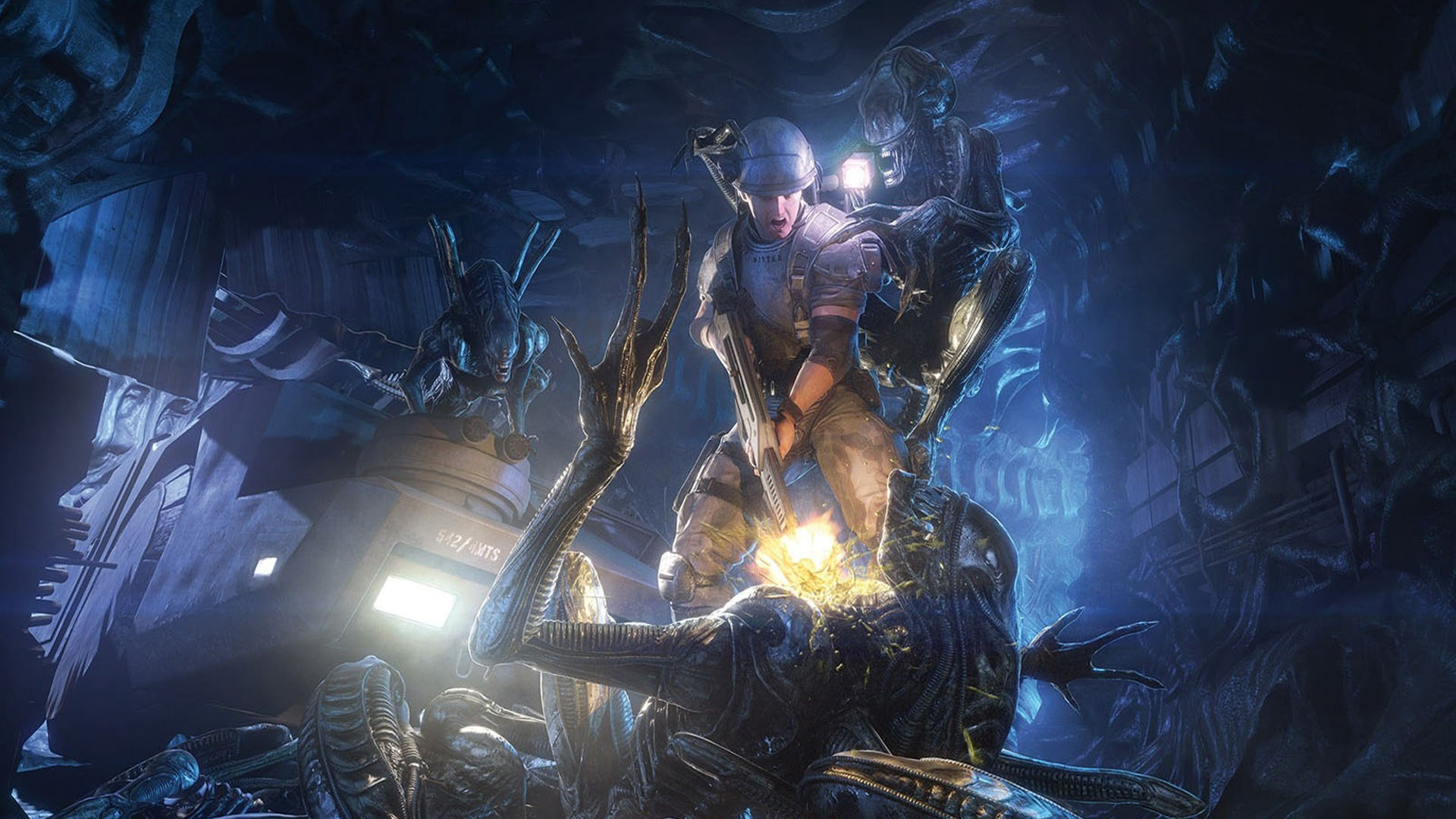 Free Aliens: Colonial Marines Wallpaper in 1920x1080