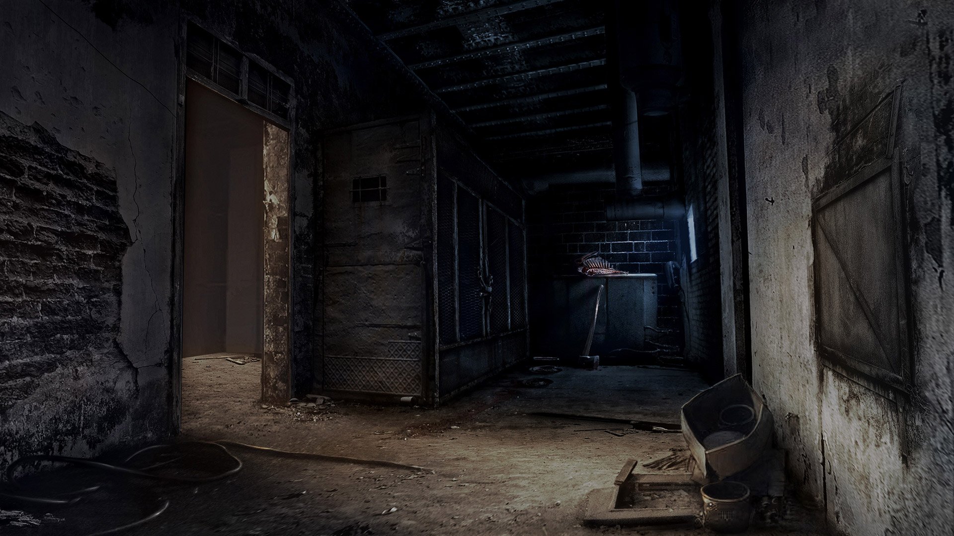 Free Alone in the Dark Wallpaper in 1920x1080