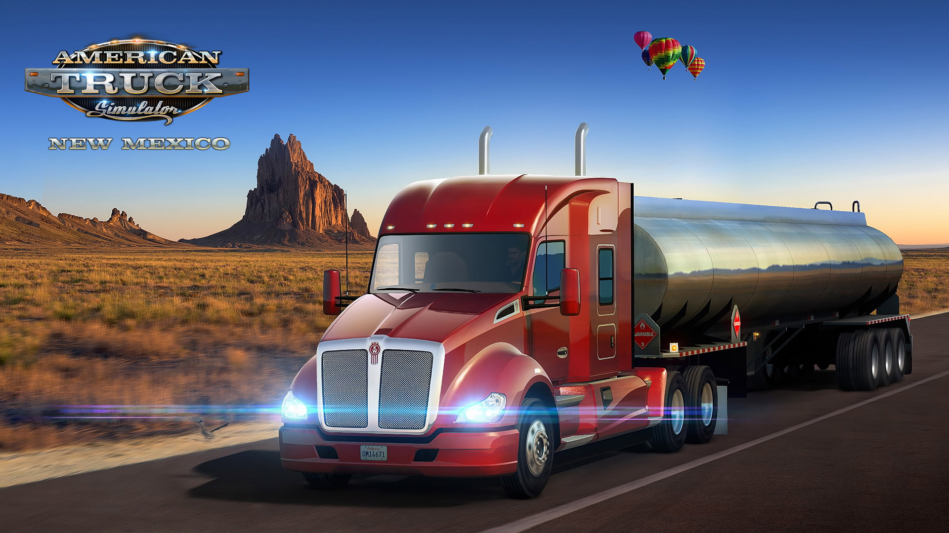 Free American Truck Simulator Wallpaper in 1920x1080