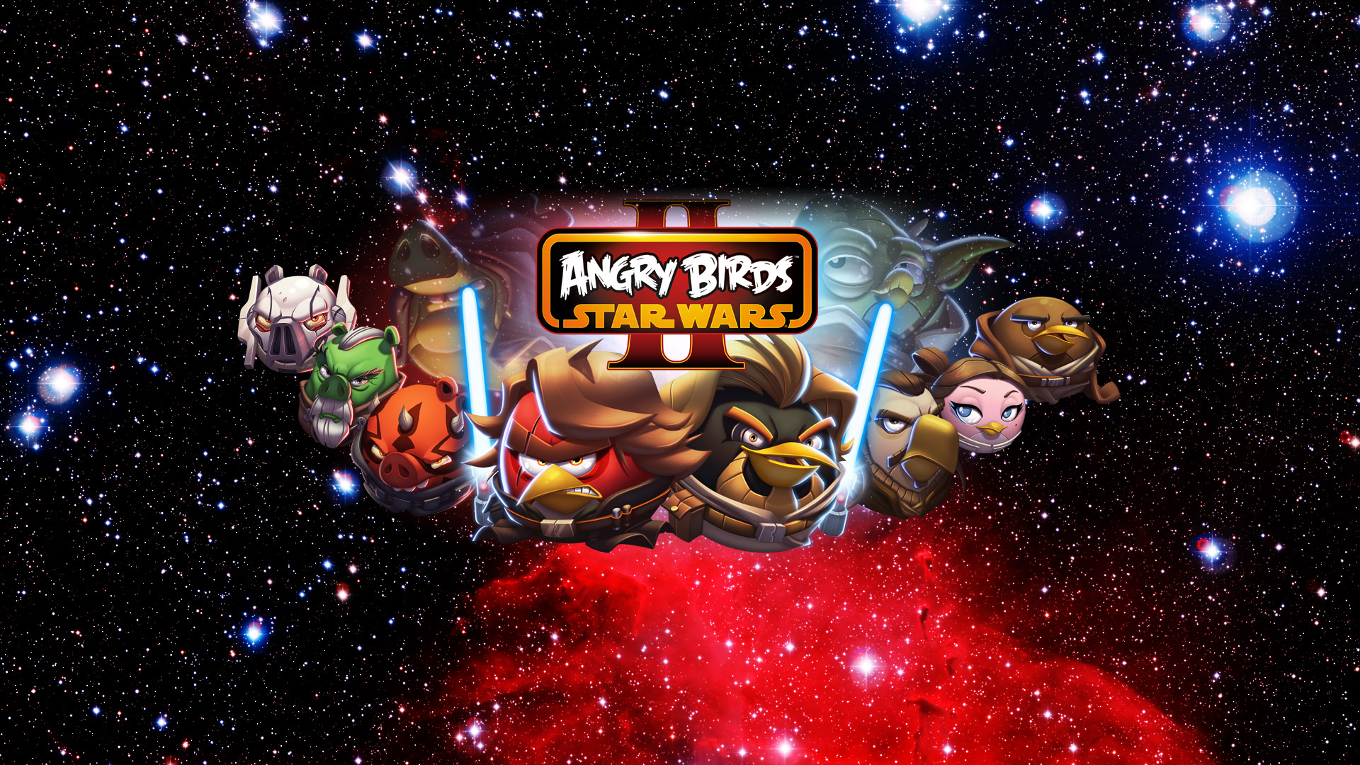 Free Angry Birds Star Wars II Wallpaper in 1920x1080