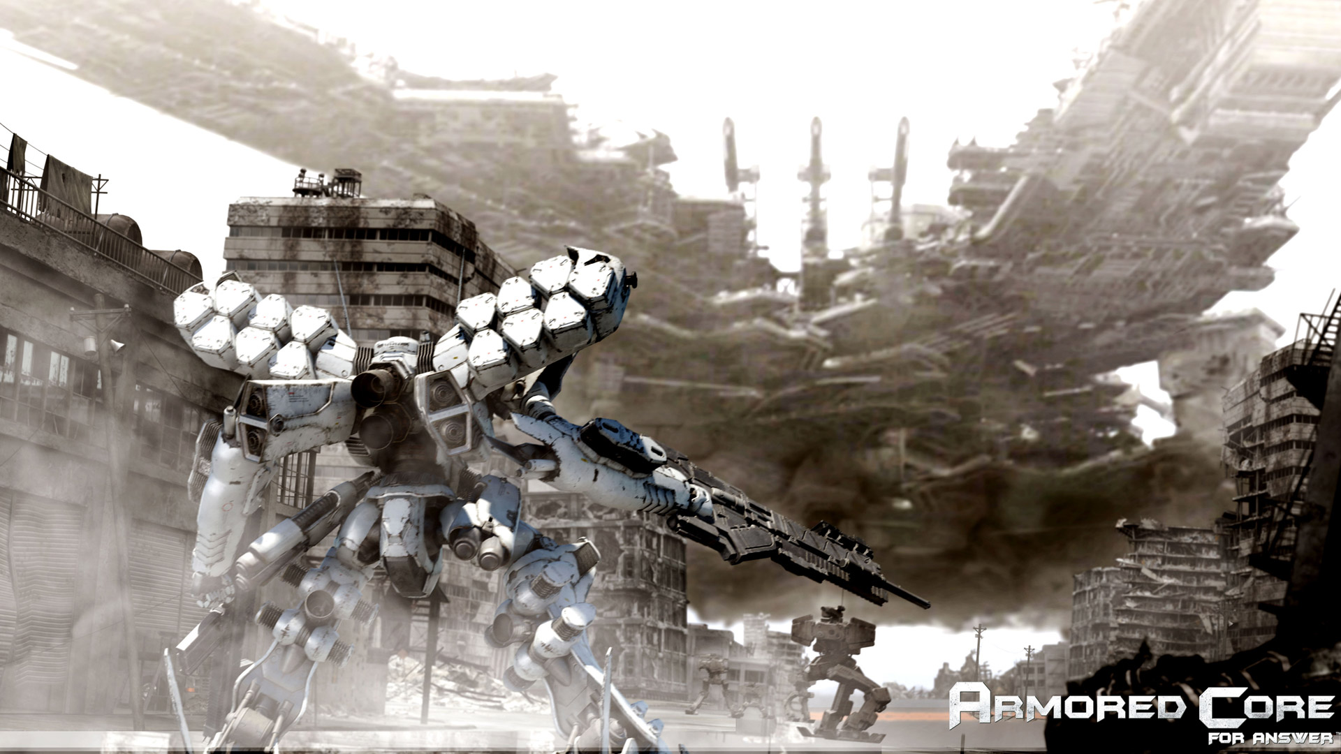 Free Armored Core: For Answer Wallpaper in 1920x1080