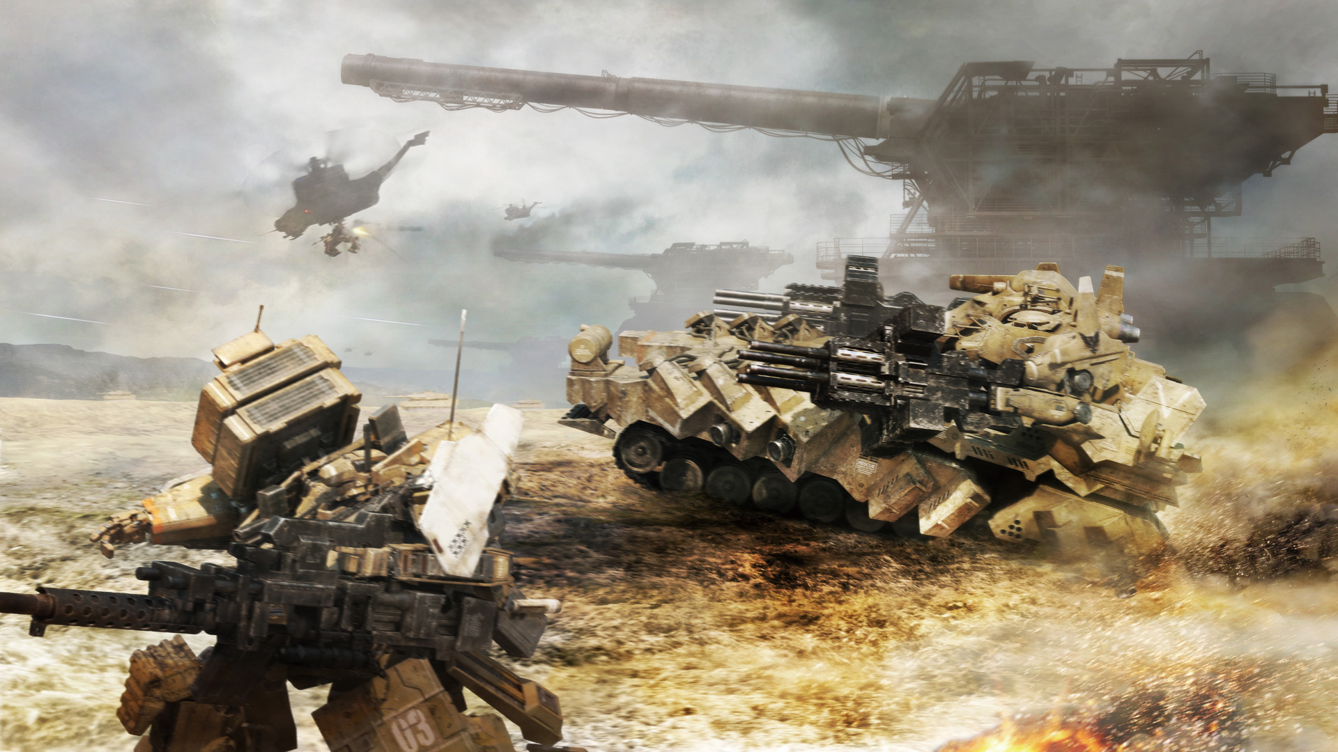 Armored Core V Wallpaper in 1920x1080