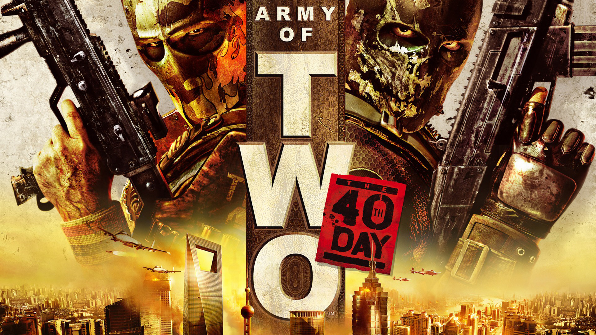 Army of Two: The 40th Day Wallpaper in 1920x1080
