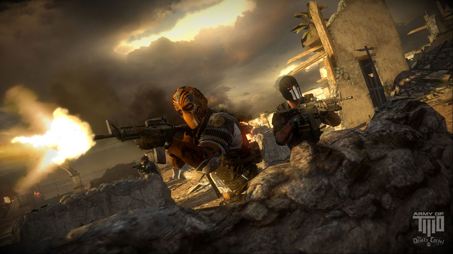 Army of Two: The Devil's Cartel Wallpaper in 1920x1080
