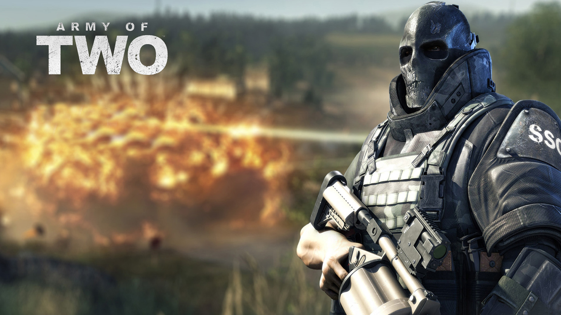 Army of Two Wallpaper in 1920x1080