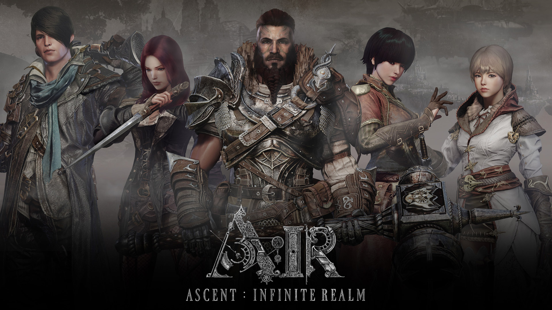 Free Ascent: Infinite Realm Wallpaper in 1920x1080