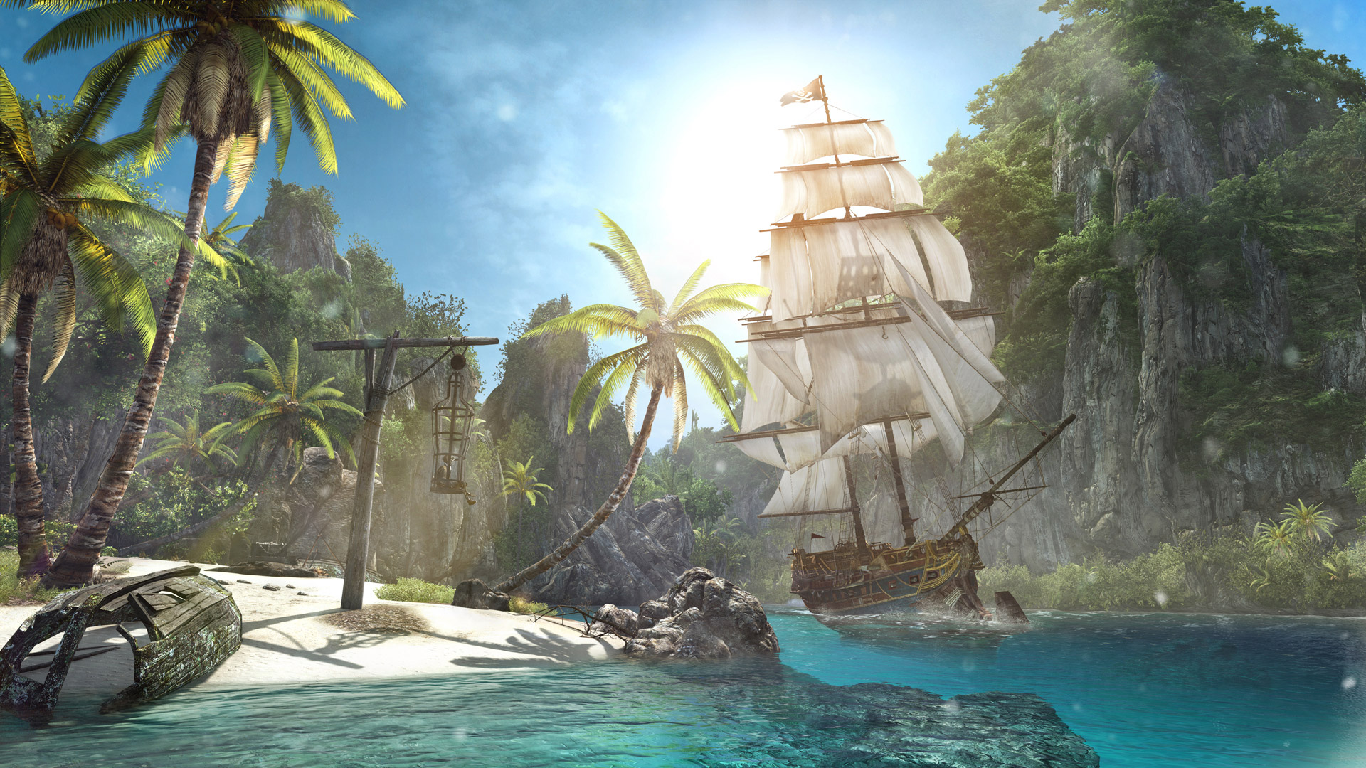 Free Assassin's Creed IV: Black Flag Wallpaper in 1920x1080