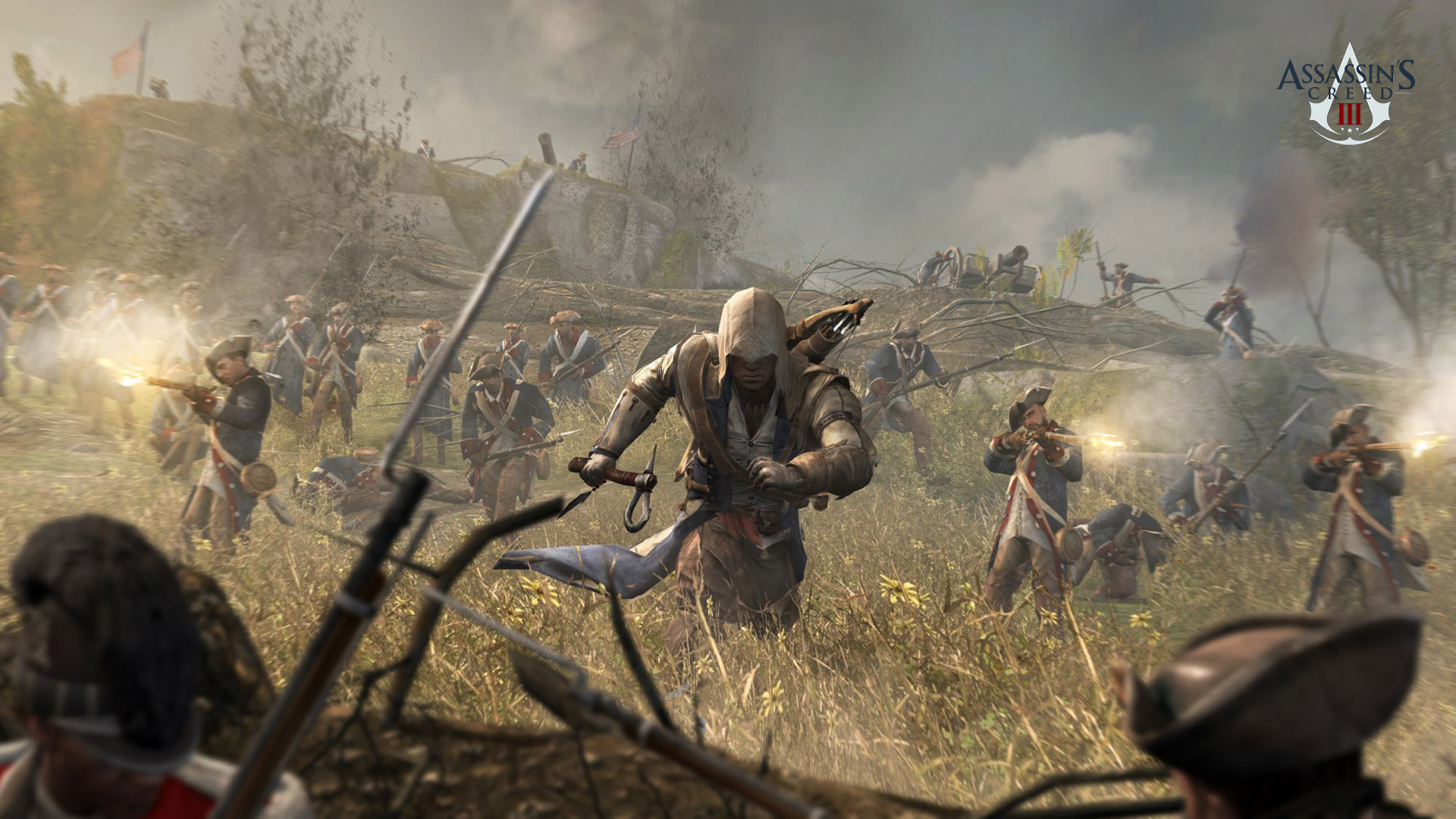 Assassin's Creed III Wallpaper in 1920x1080
