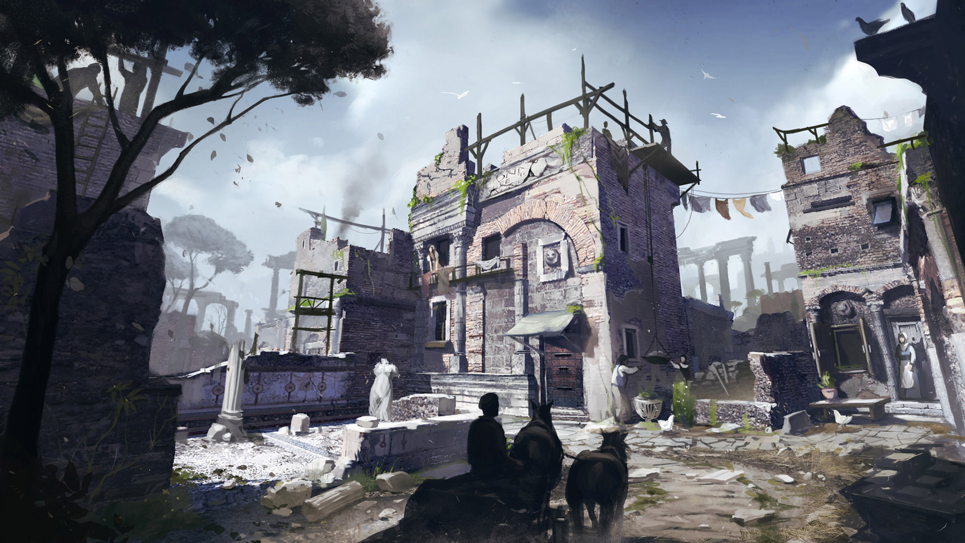 Assassin's Creed: Brotherhood Wallpaper in 1920x1080