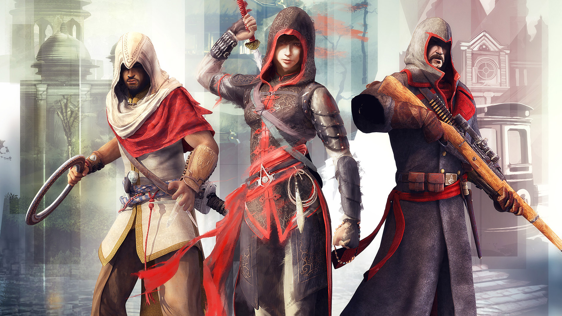 Free Assassin's Creed Chronicles: China Wallpaper in 1920x1080