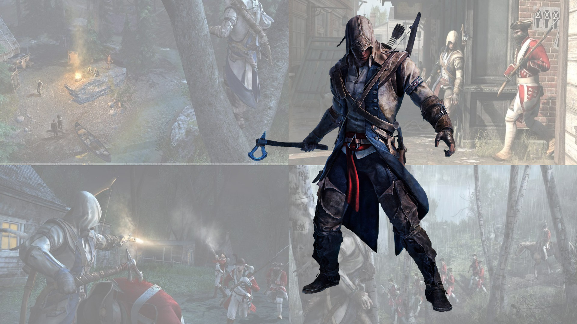 Assassin's Creed III Wallpaper in 1920x1080