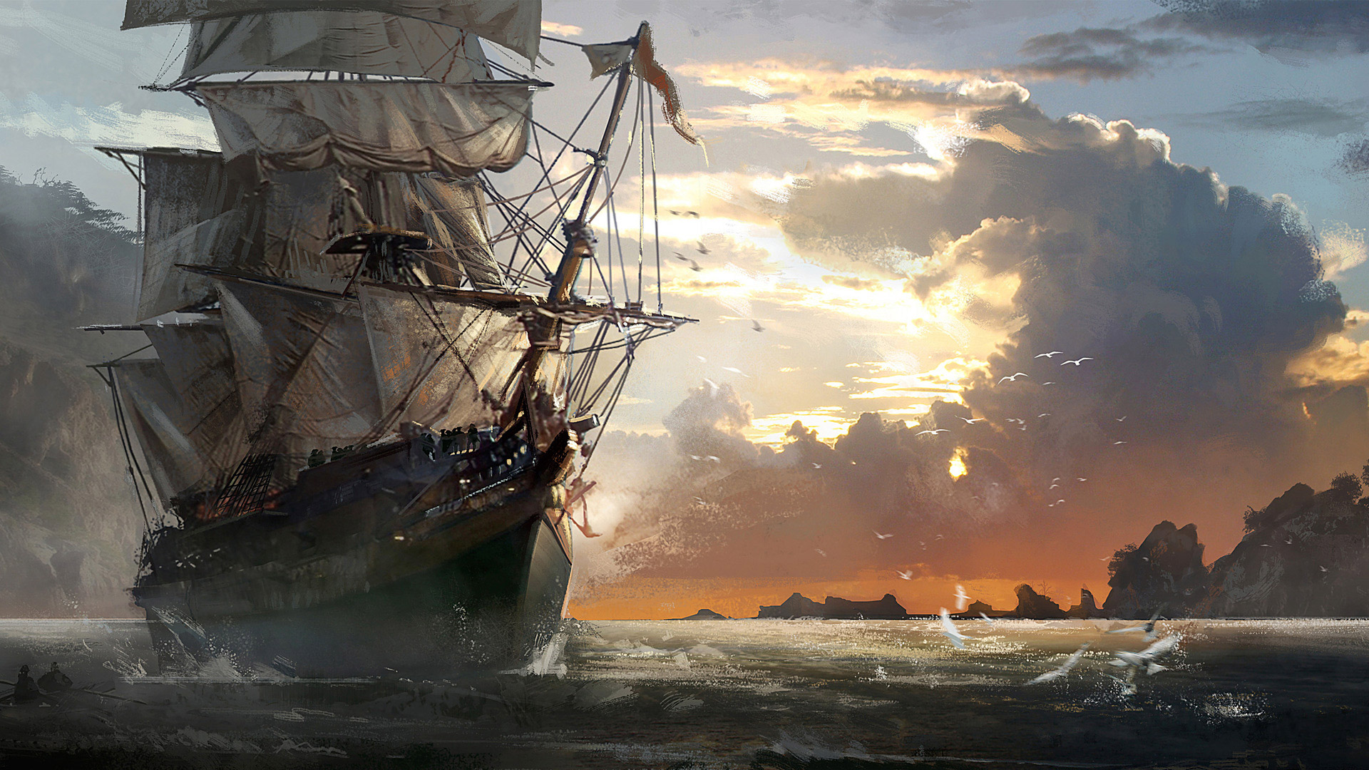 Assassin's Creed IV: Black Flag Wallpaper in 1920x1080