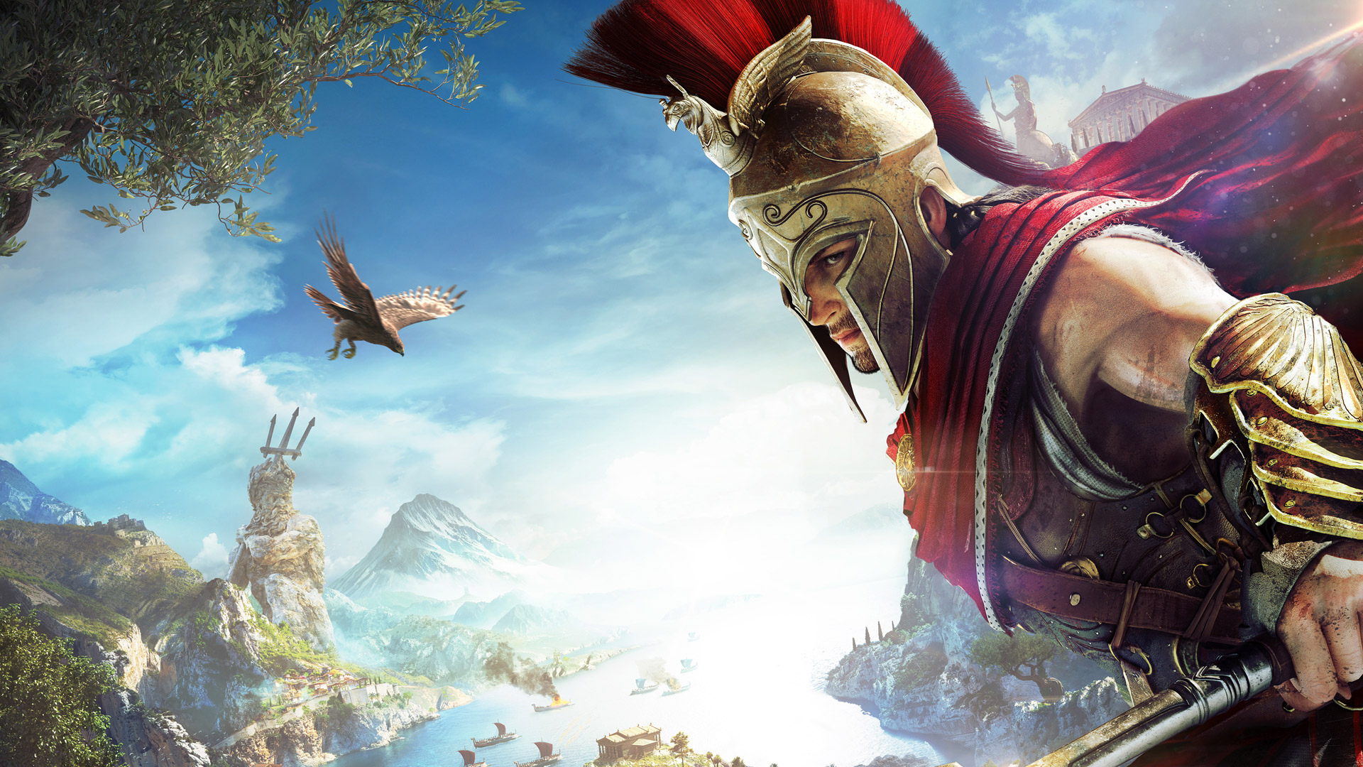 Free Assassin's Creed Odyssey Wallpaper in 1920x1080