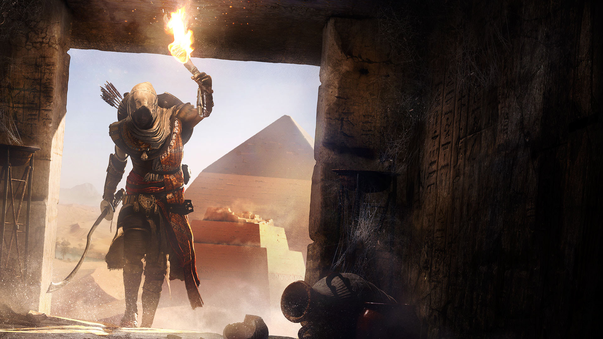 Free Assassin's Creed Origins Wallpaper in 1920x1080