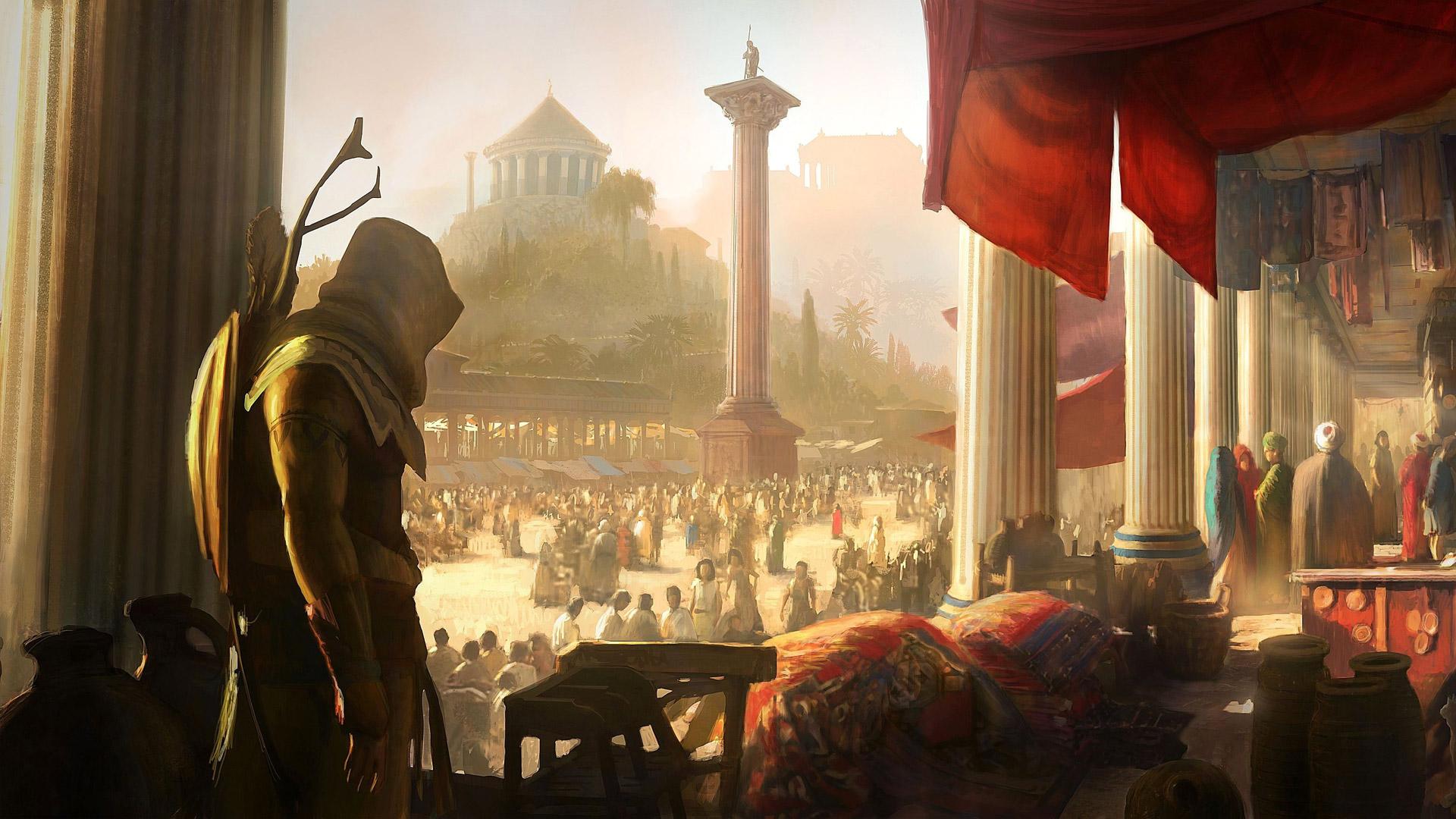 Assassin's Creed Origins Wallpaper in 1920x1080