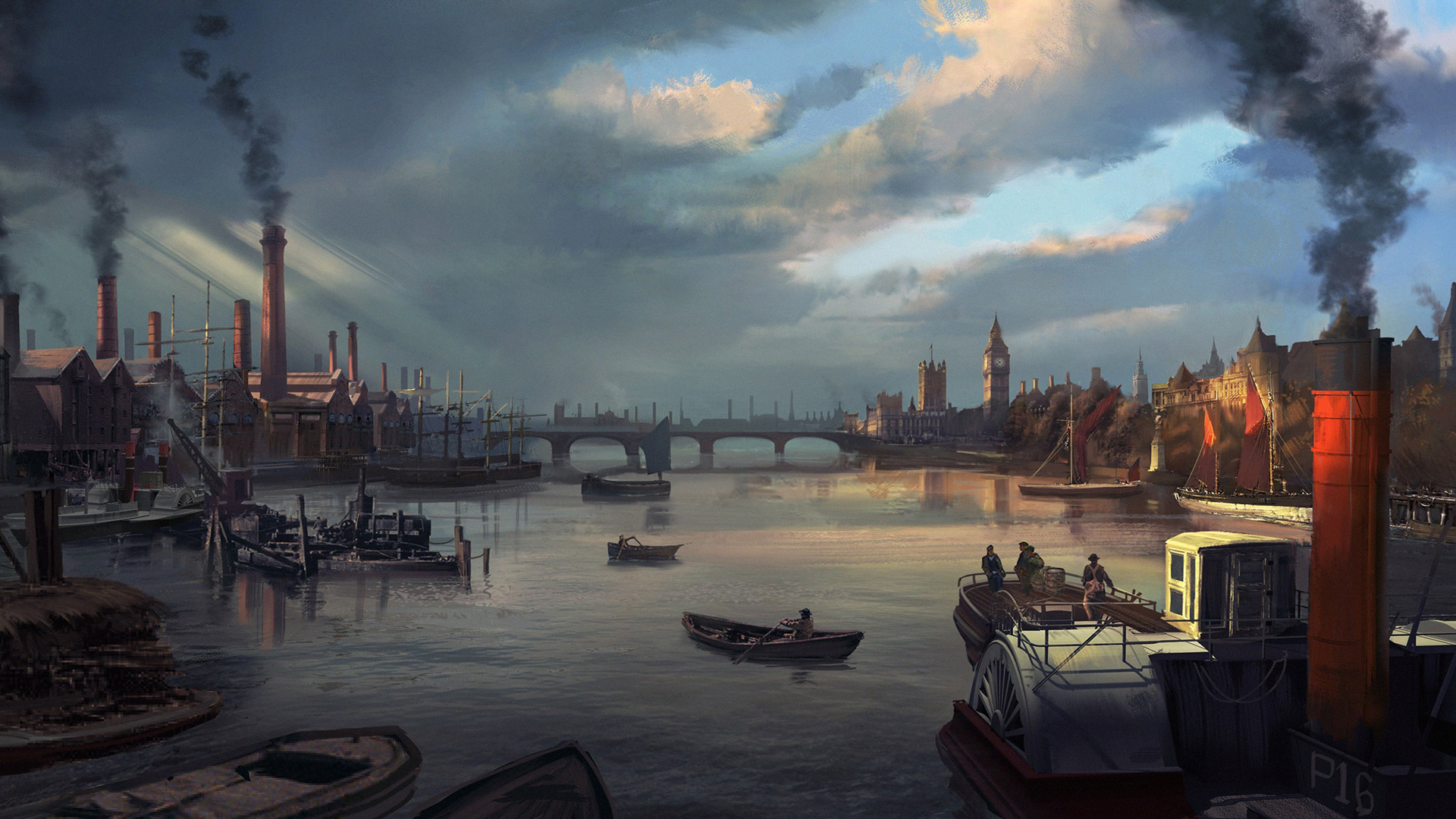 Assassin's Creed: Syndicate Wallpaper in 1920x1080