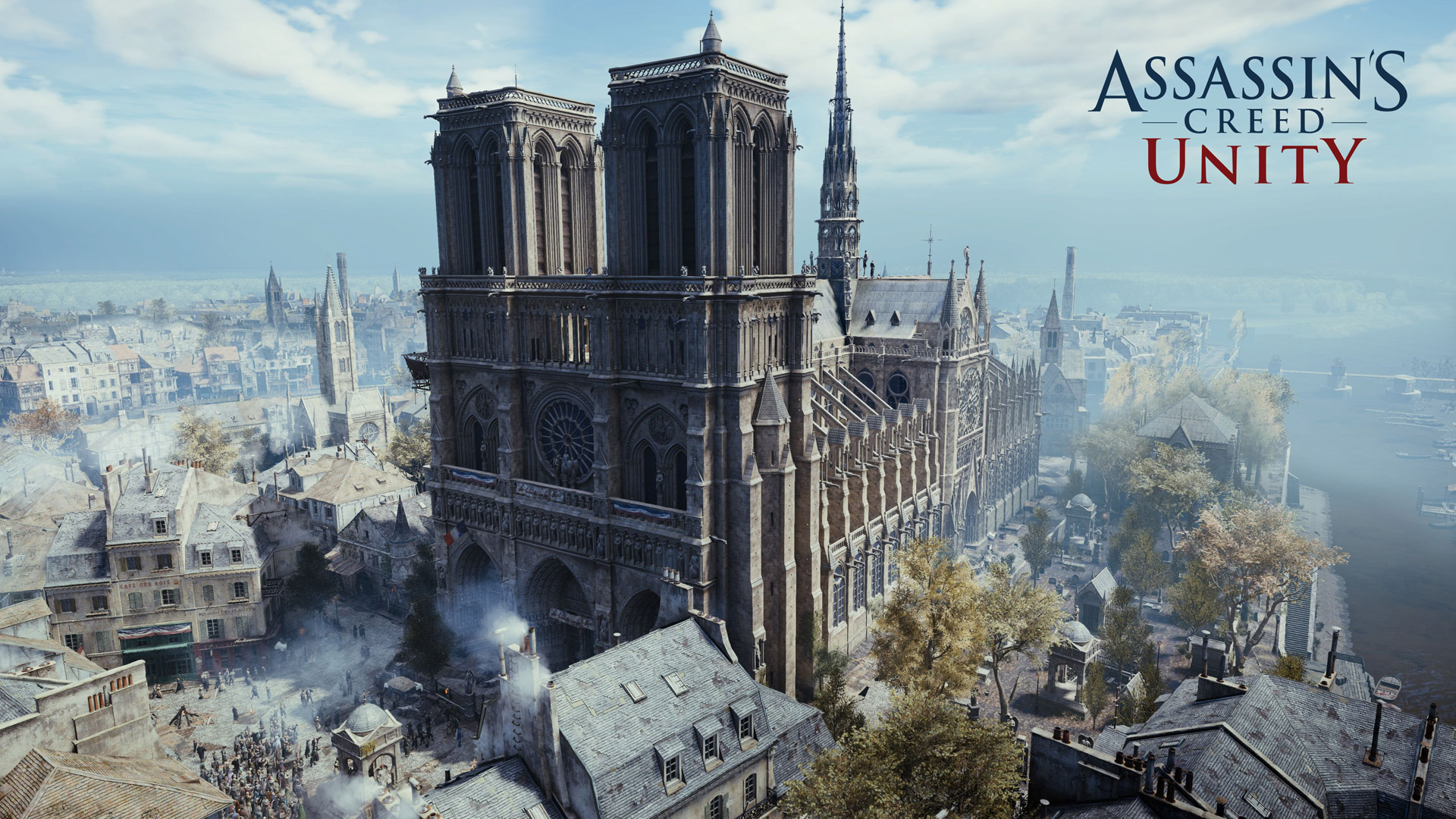 Free Assassin's Creed: Unity Wallpaper in 1920x1080