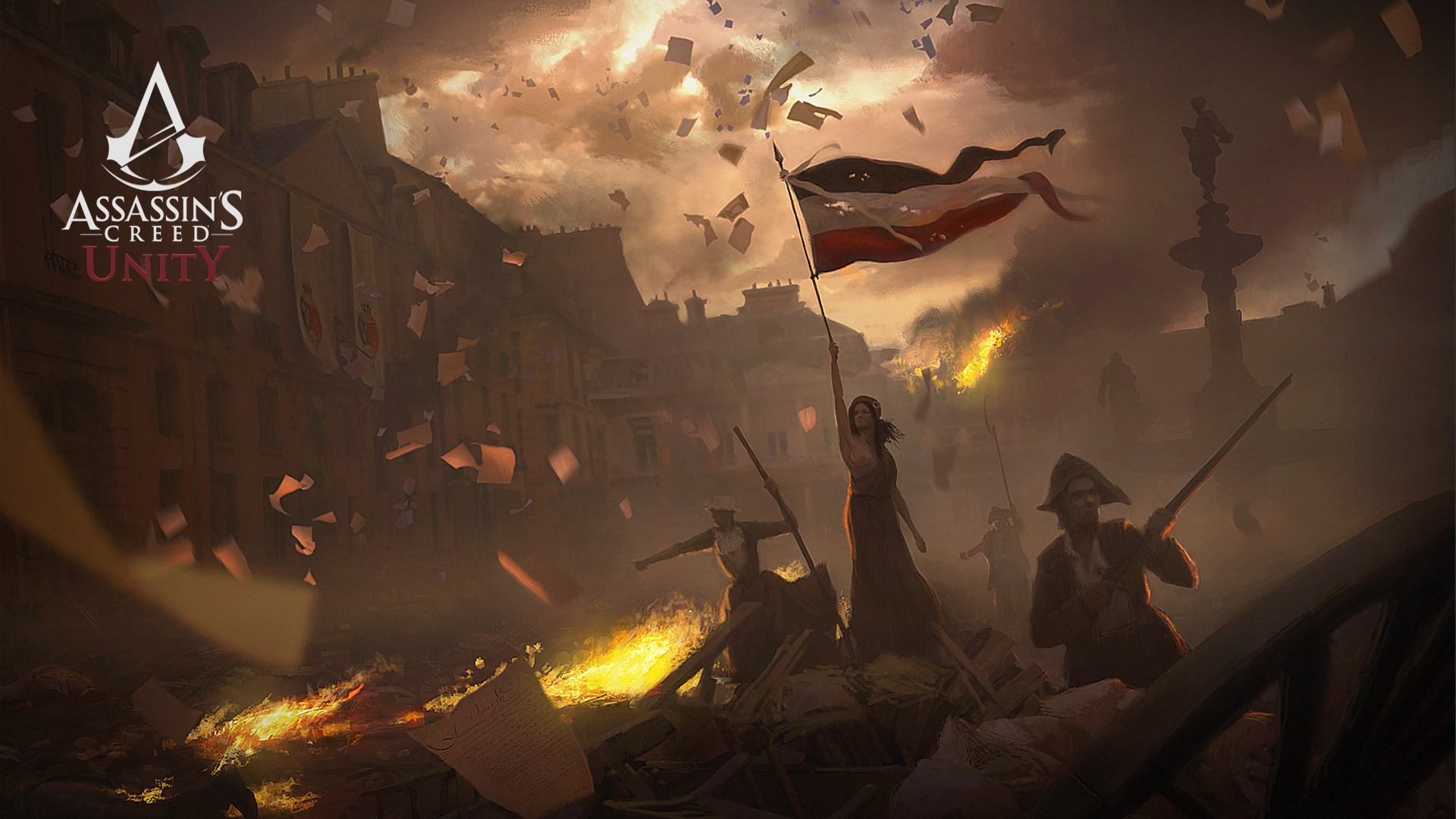 Assassin's Creed: Unity Wallpaper in 1920x1080