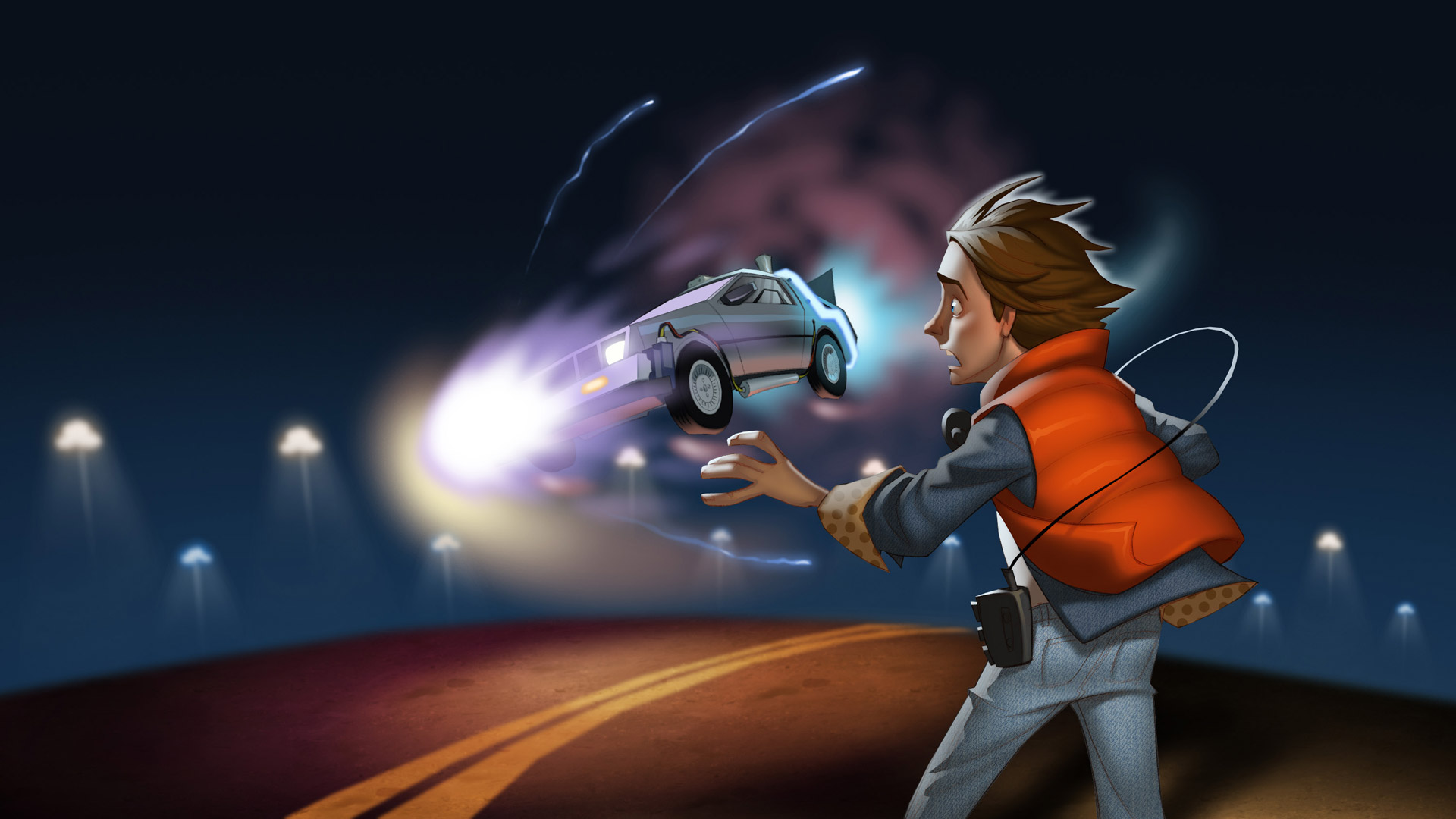 Back to the Future: The Game Wallpaper in 1920x1080