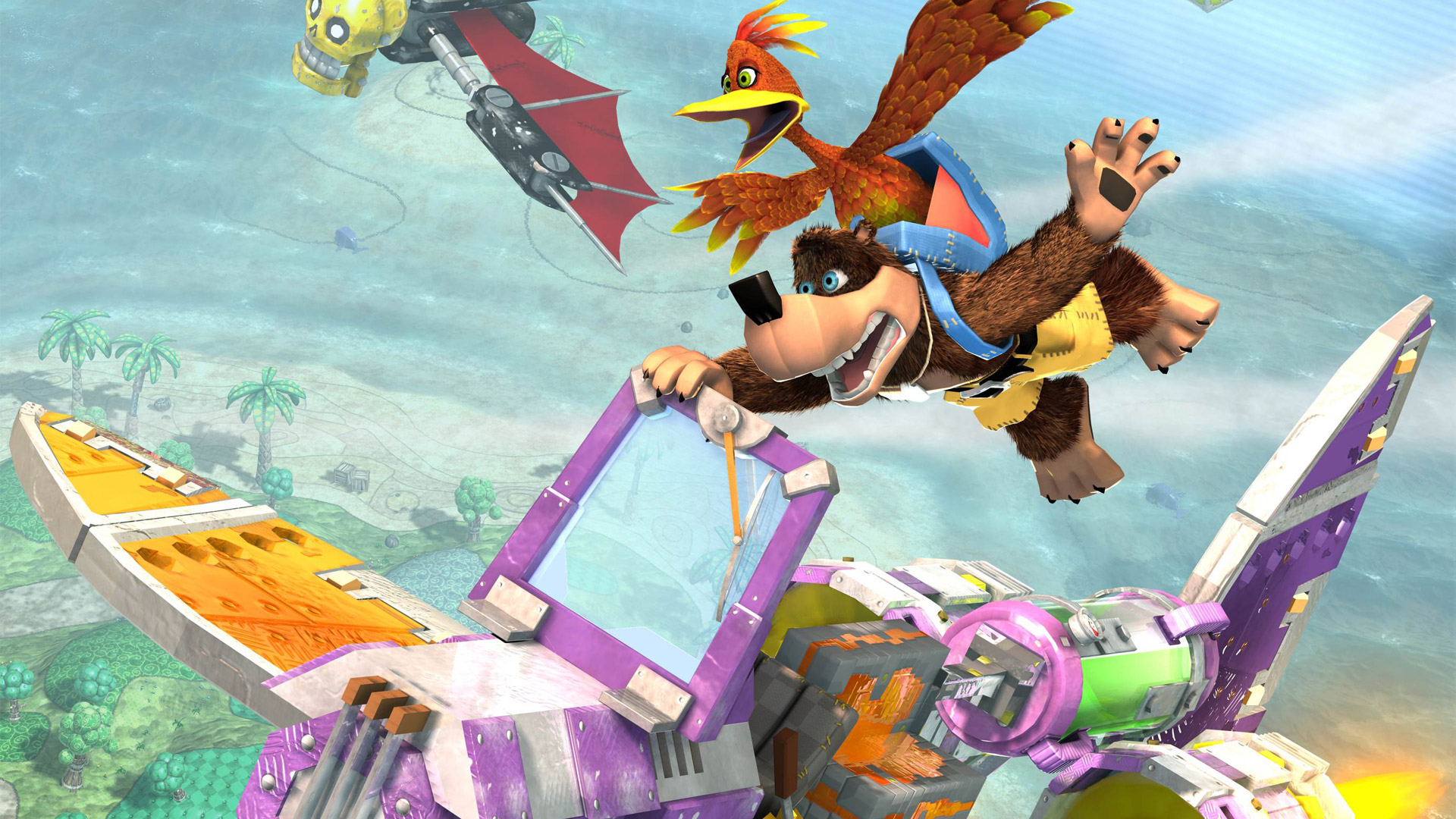 Banjo-Kazooie: Nuts & Bolts Wallpaper in 1920x1080