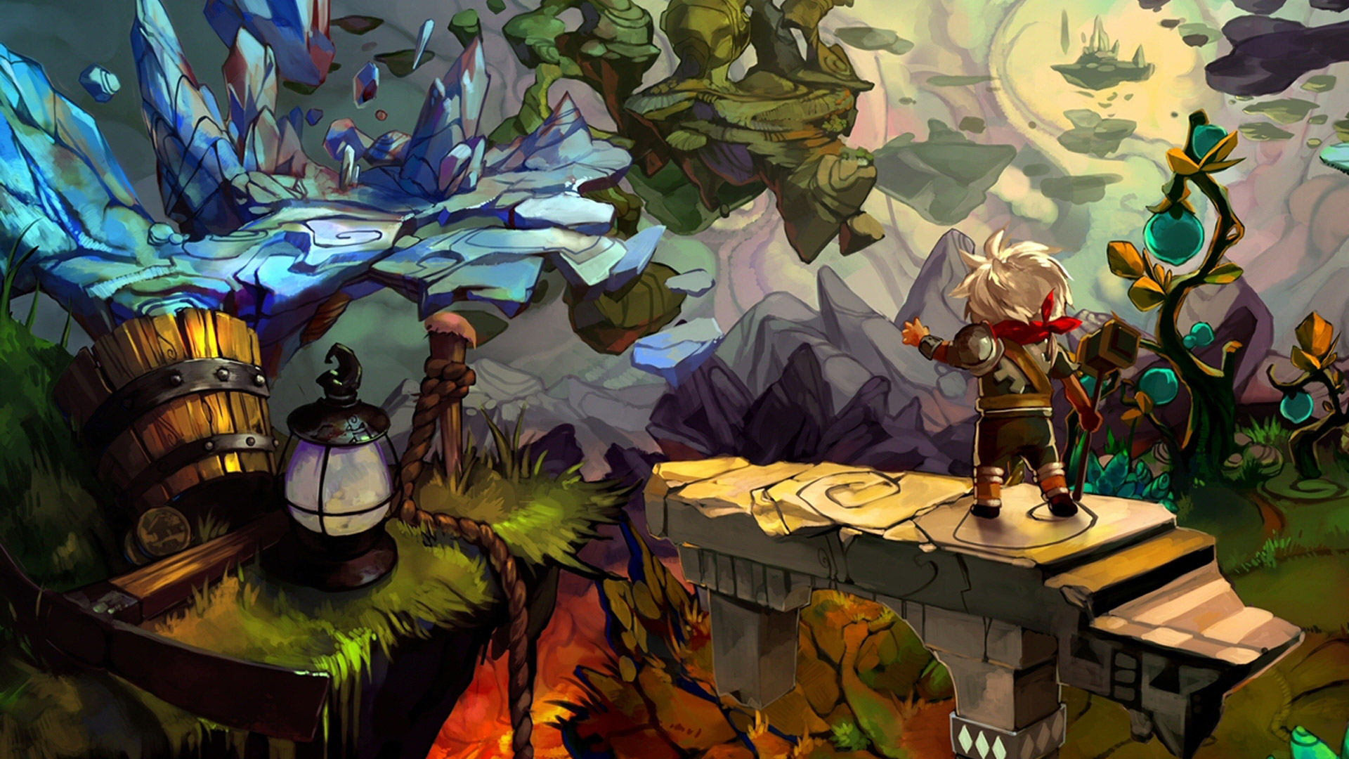 Bastion Wallpaper in 1920x1080