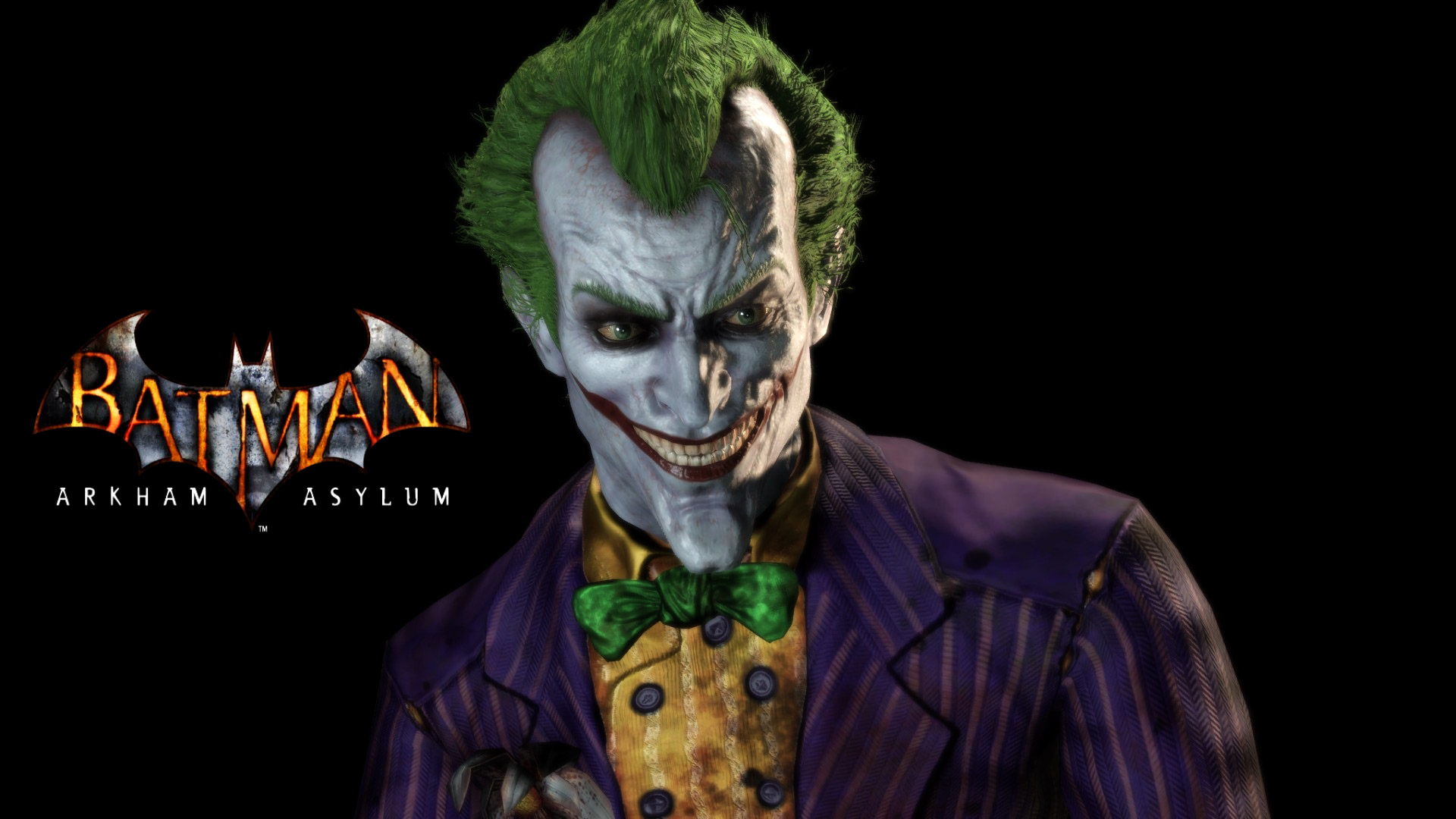 Free Batman: Arkham Asylum Wallpaper in 1920x1080
