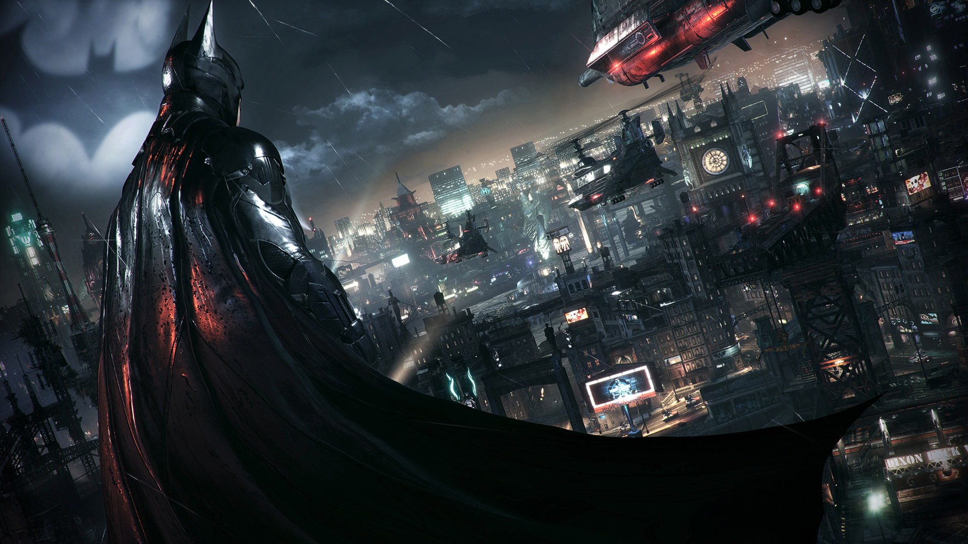Free Batman: Arkham Knight Wallpaper in 1920x1080