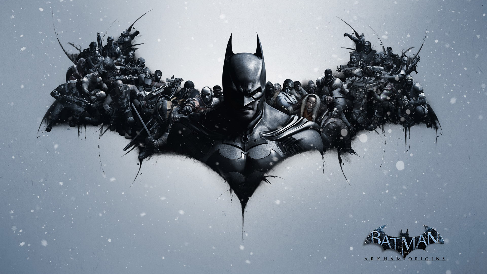 Free Batman: Arkham Origins Wallpaper in 1920x1080
